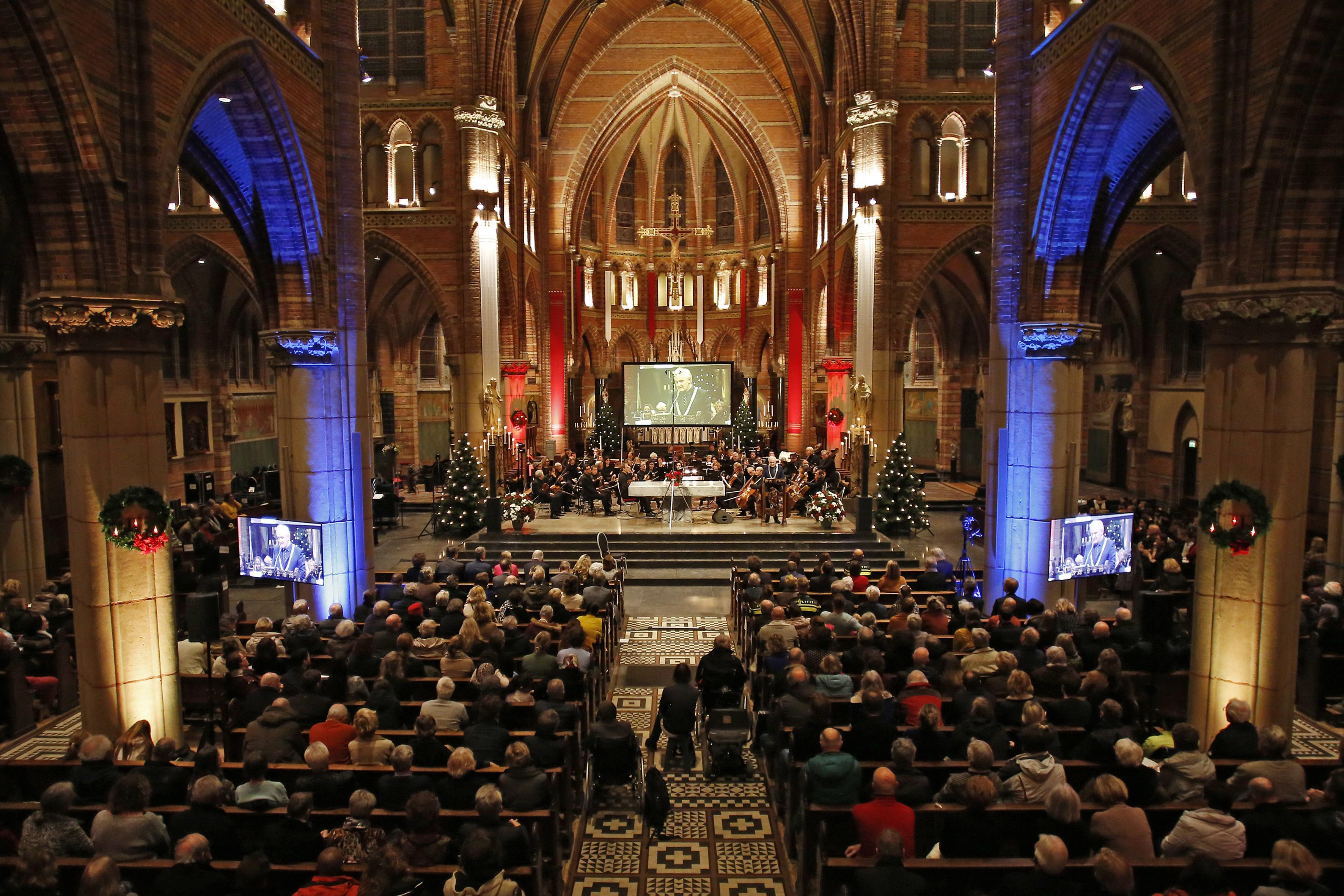 Nieuwjaarsconcert Hilversum niet in de Vituskerk, maar via een livestream uit het MCO