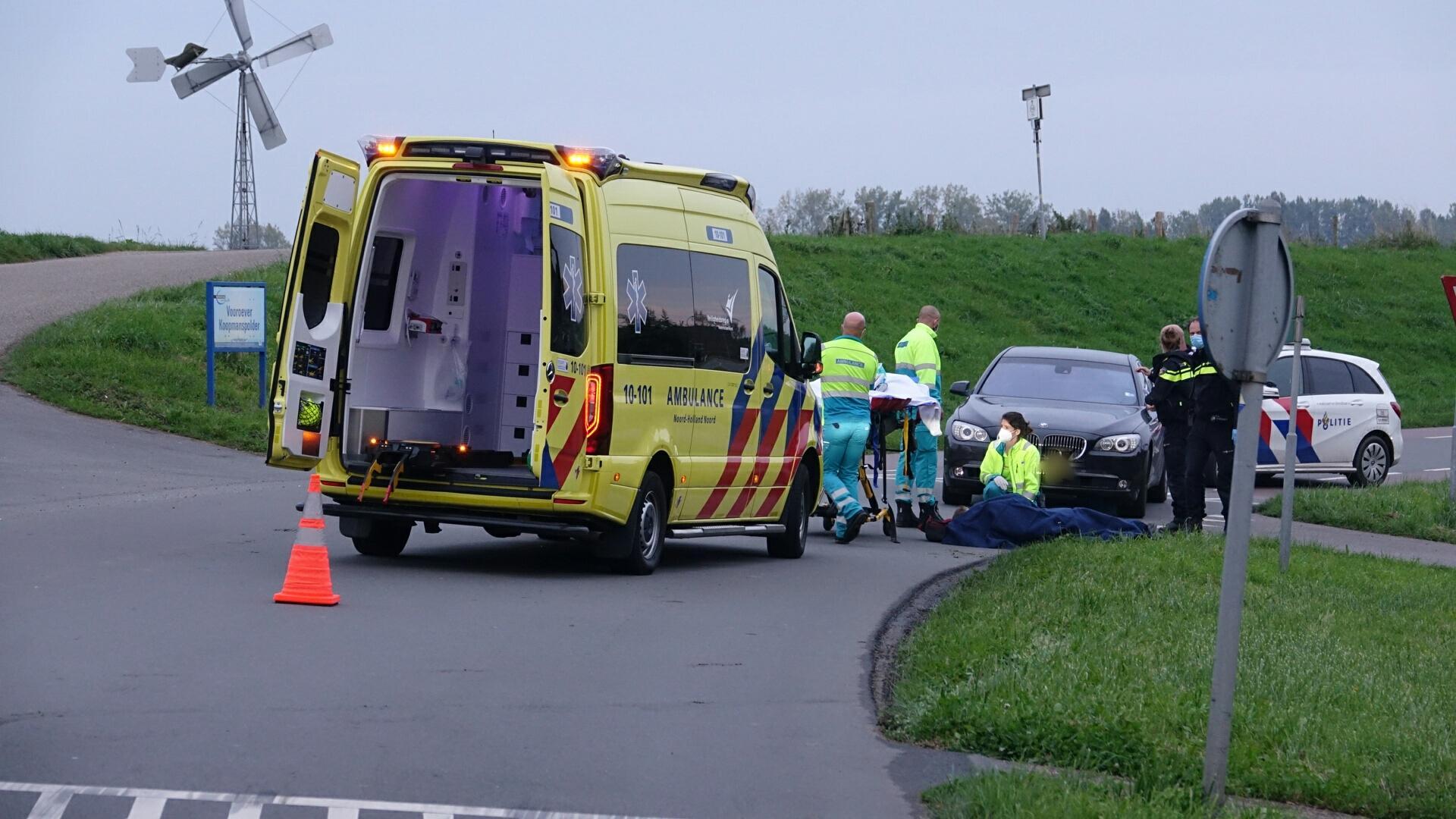 Fietser gewond bij aanrijding met auto in Wervershoof