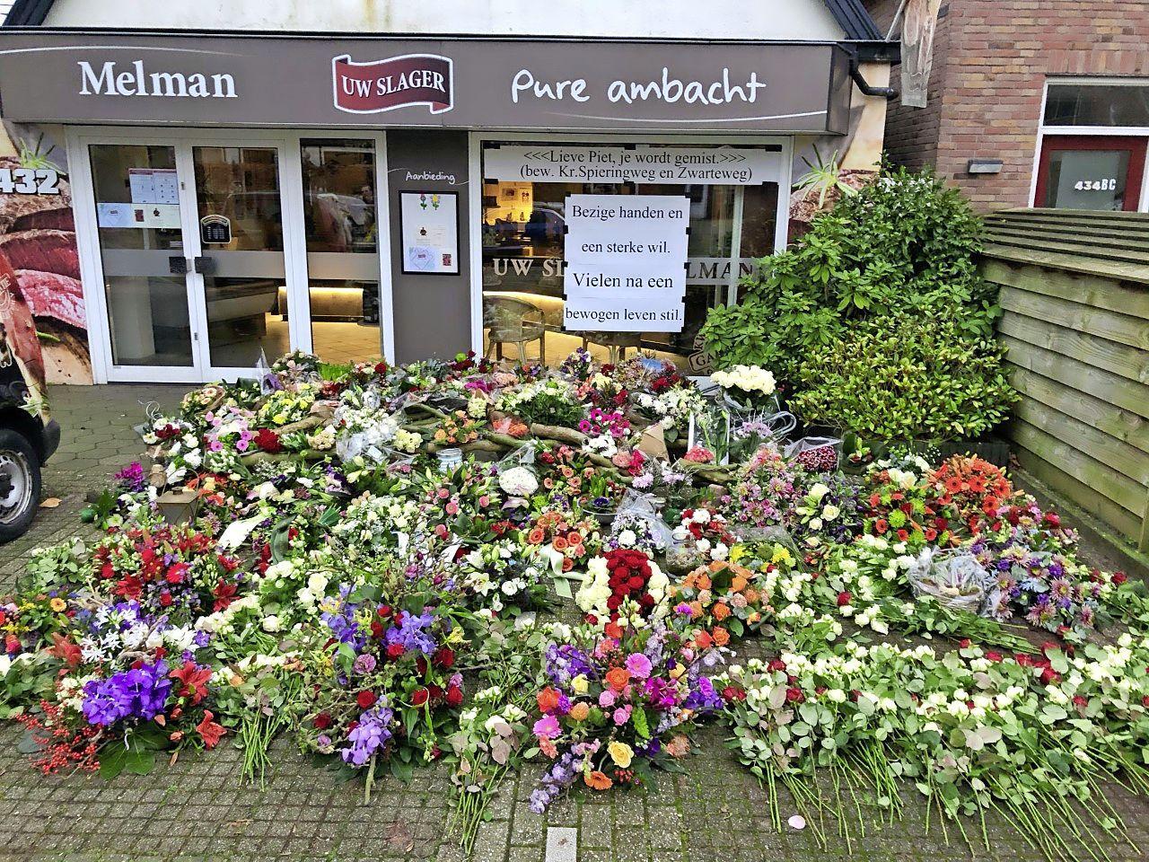 Een half jaar na diens overlijden stopt de slagerij van Piet Melman. 'Het was zijn levenswerk'