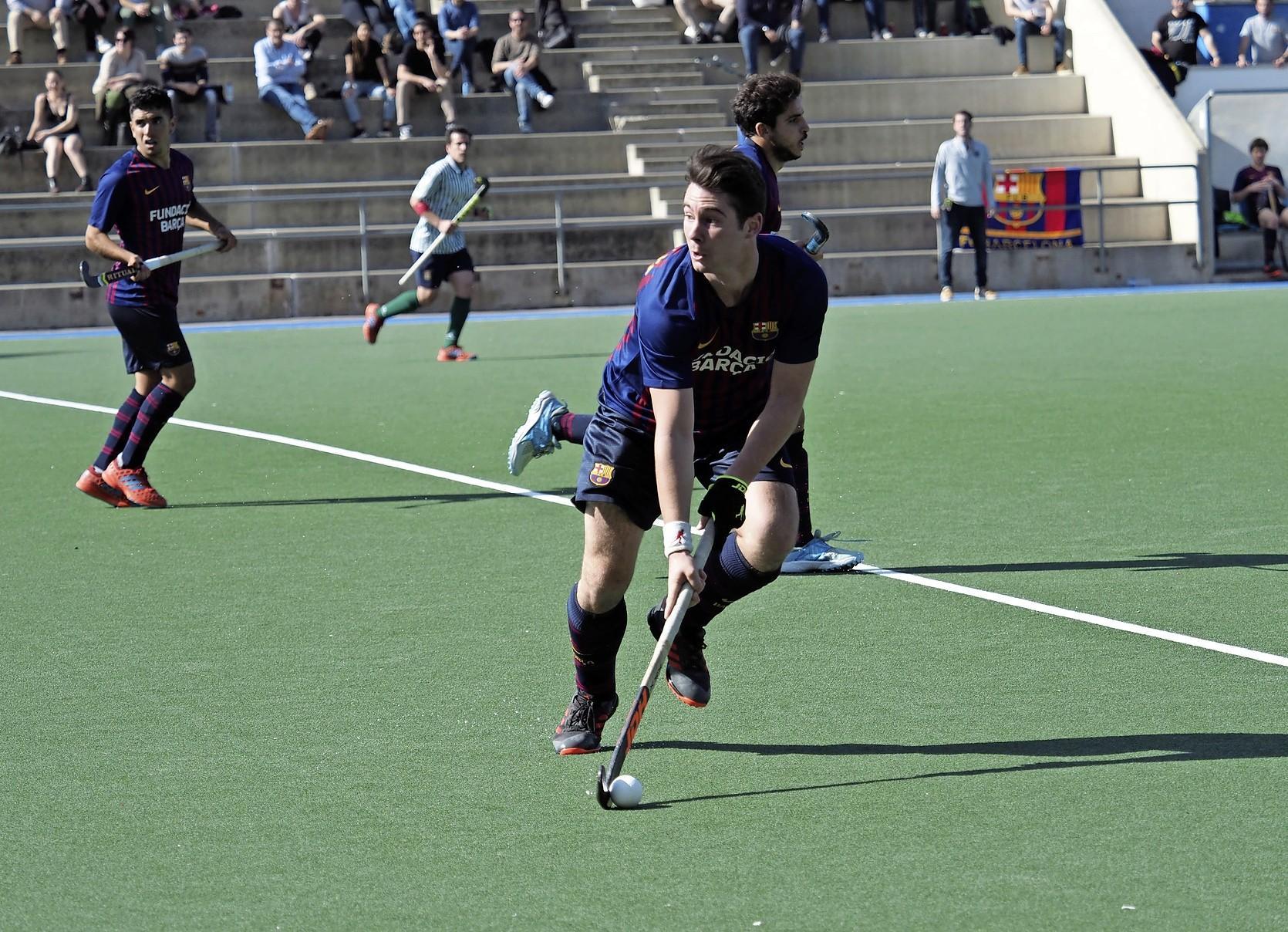 Haarlemmer Michiel van de Stadt hockeyt volgend seizoen weer voor Barcelona