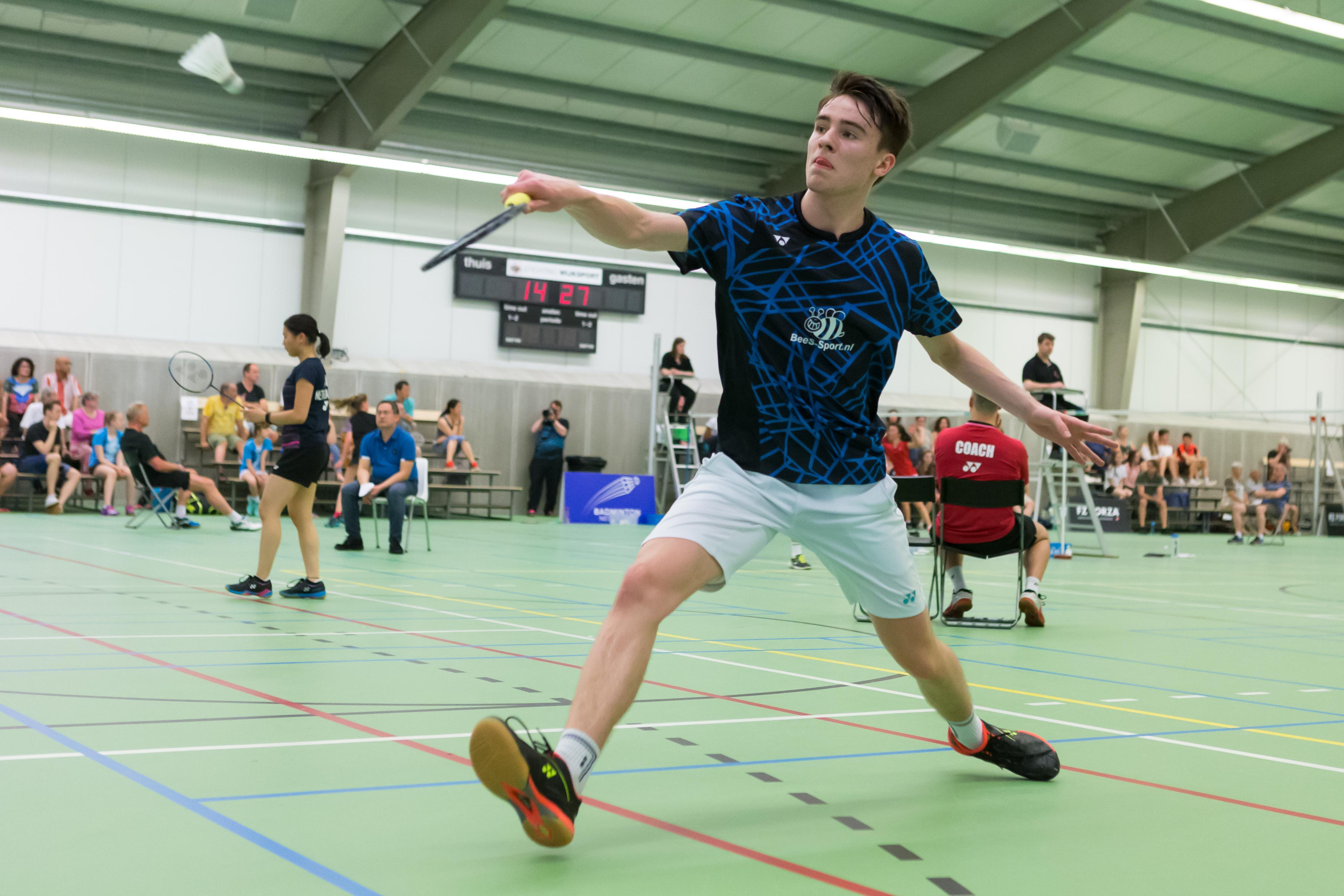 Badmintonner Finn Achthoven naar tweede Jeugd WK: Hopen op een gunstige loting