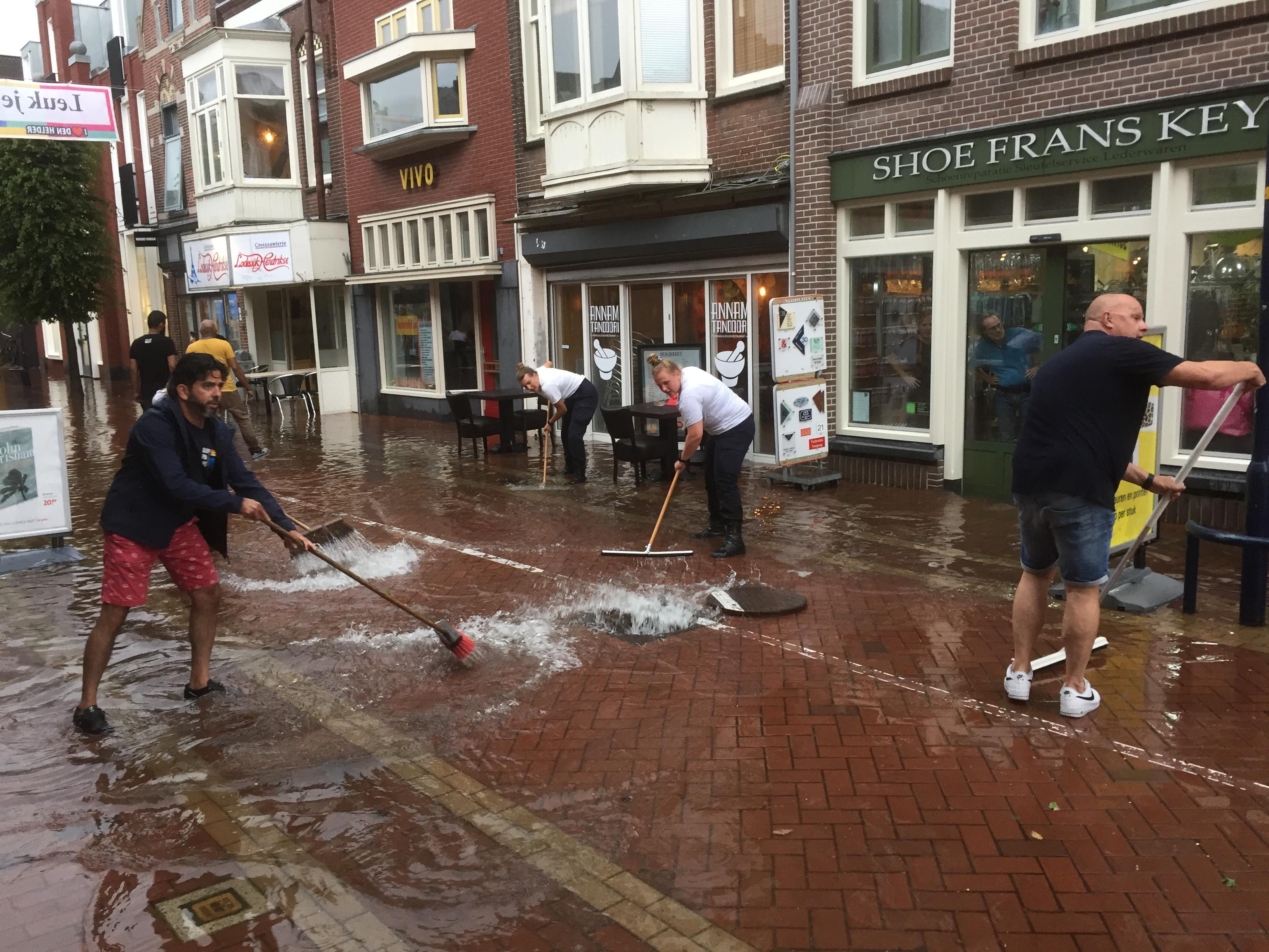 Klimaatverandering volgens waterman Frans Klut ook van invloed op grondwater in Den Helder