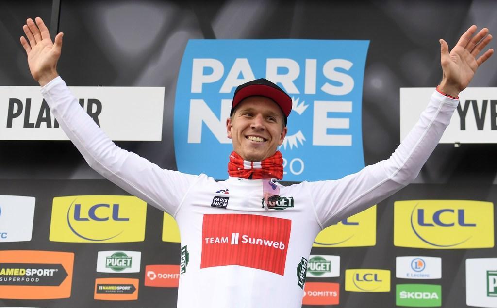 Wielrenner Cees Bol klasse apart in massasprint tweede etappe van Parijs-Nice