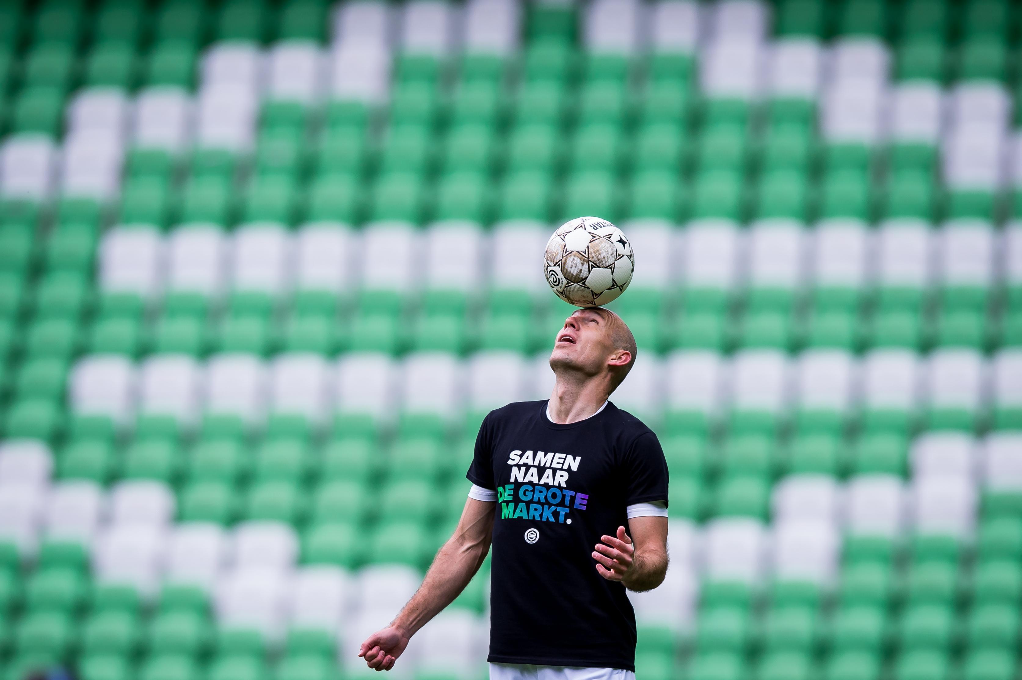 Zelfs bij AZ hopen ze op Arjen Robben: 'Hij is de liefhebber die we allemaal graag zien'