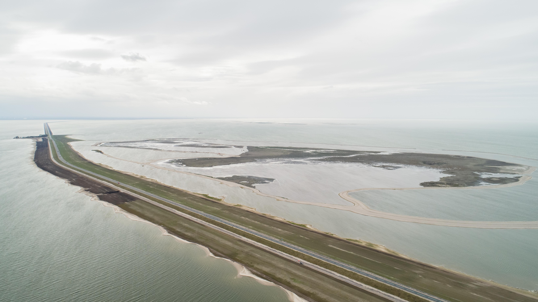 'Stuifzandproject' rond Houtribdijk bij Enkhuizen wint Waterinnovatieprijs 2019