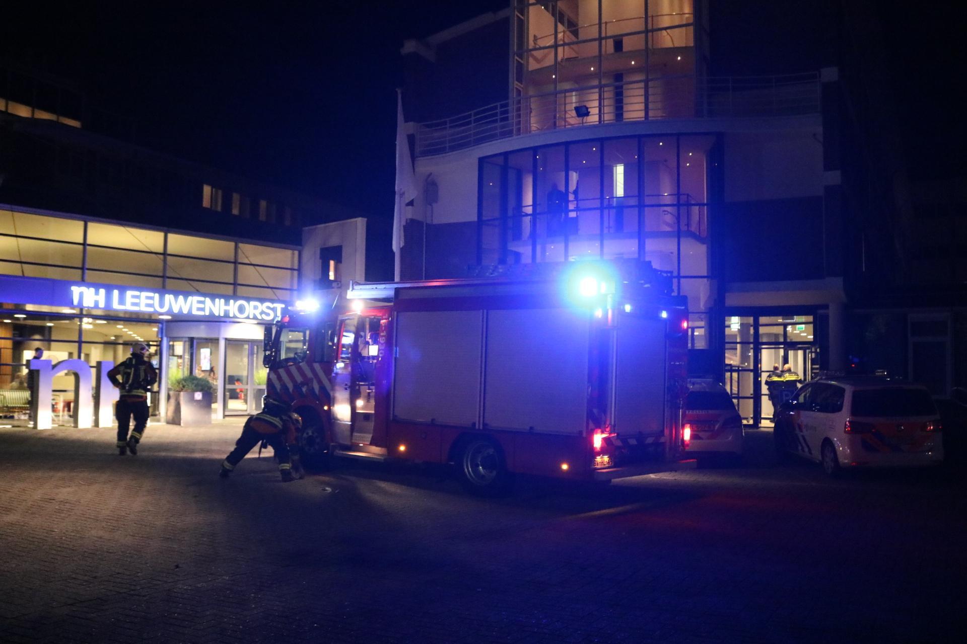 Hotel in Noordwijkerhout ontruimd na brand