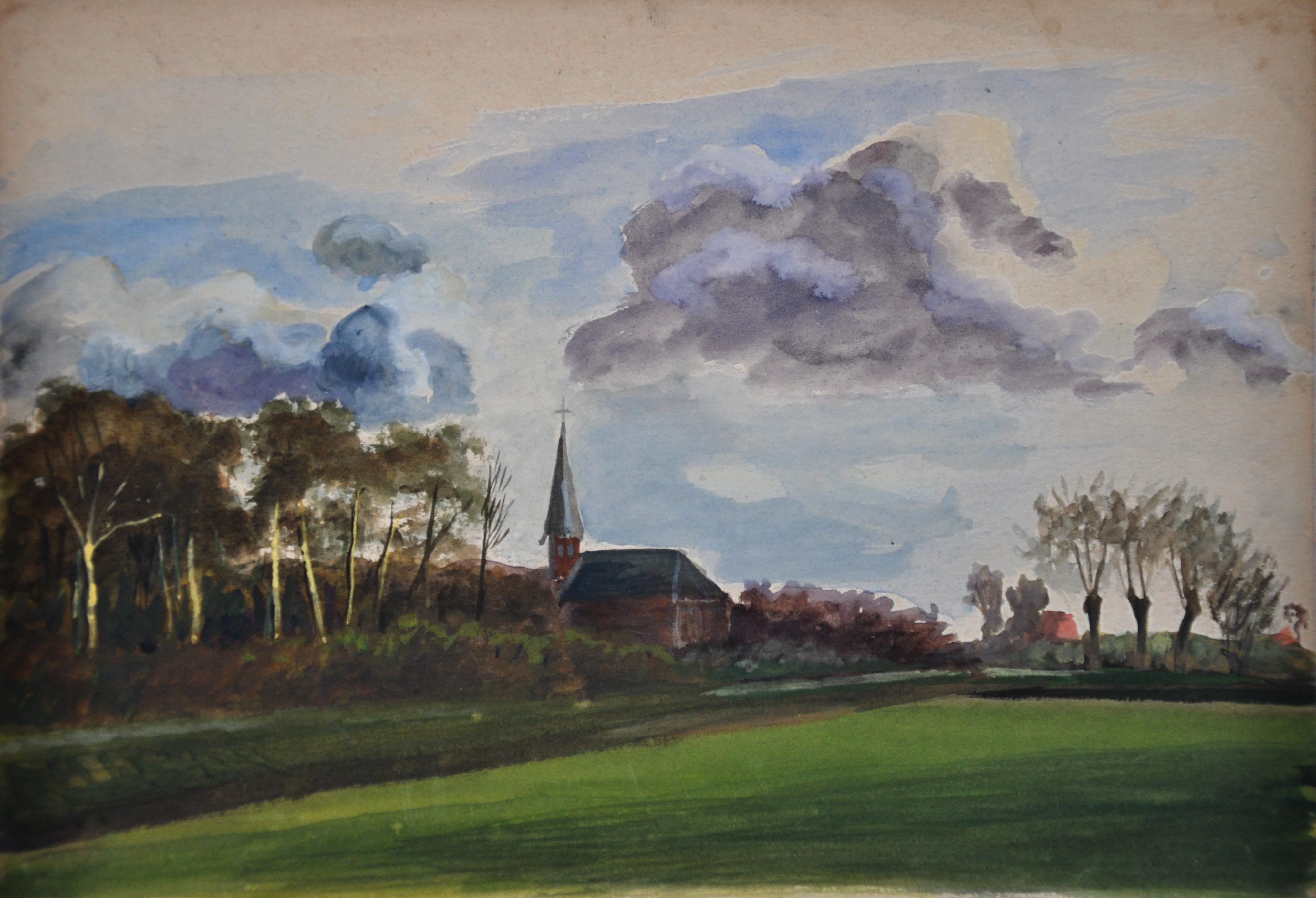 Met een expositie in de Grote Kerk krijgt Henk Pieterse (1889-1969) eindelijk de erkenning die hij verdient, zegt zijn dochter Tiny Opdam-Pieterse. 'Ik heb wel even een traantje gelaten'