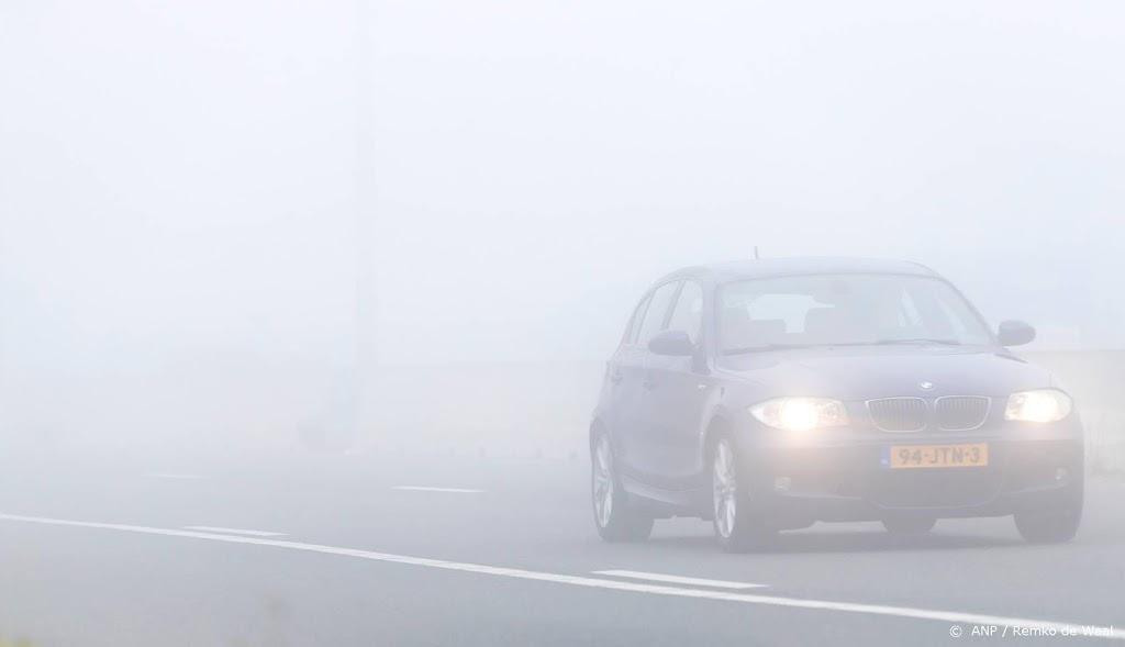 KNMI waarschuwt voor dichte mist in westen van het land