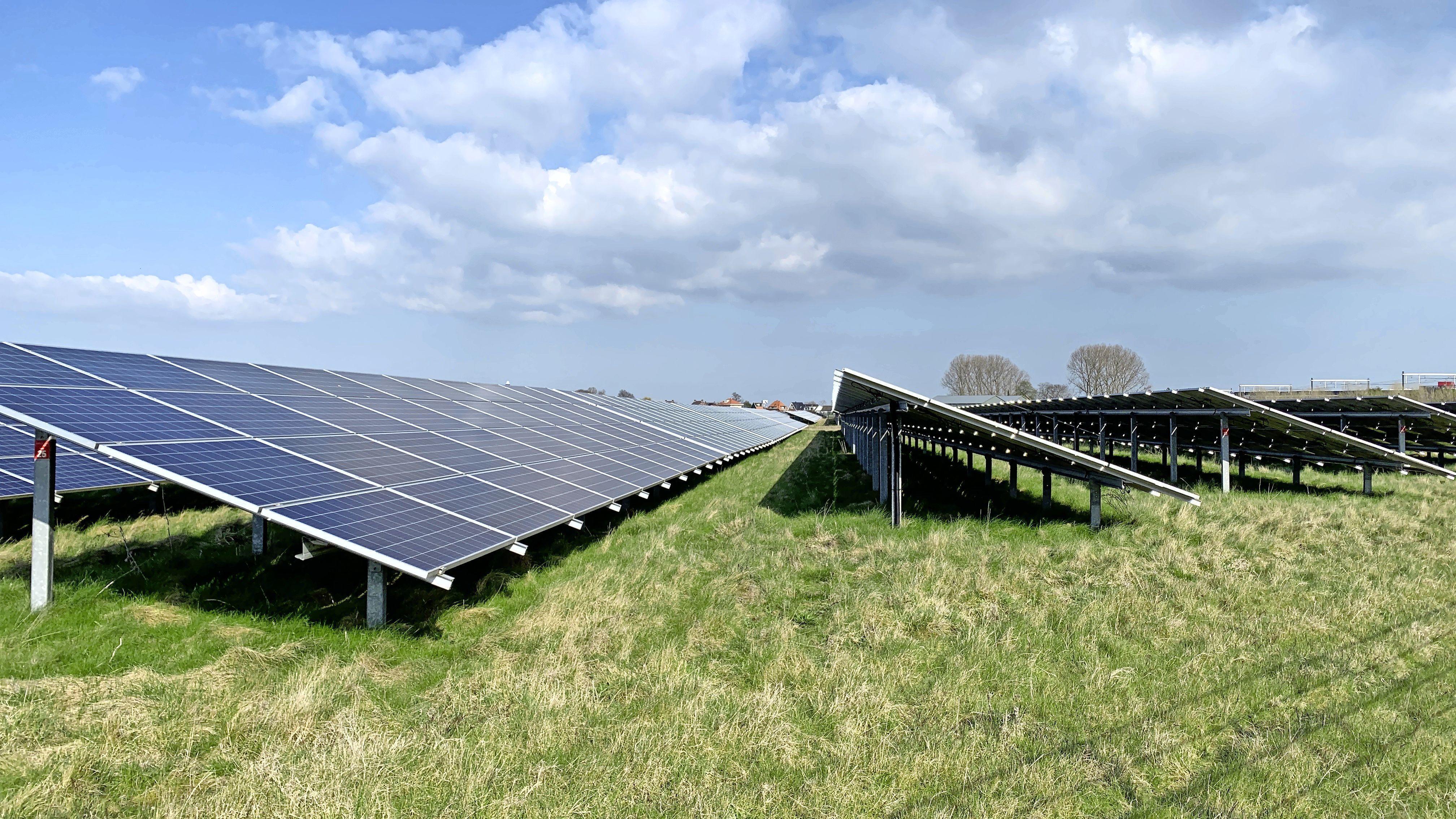 Zon redt groene-energieambities van de regio Haarlem