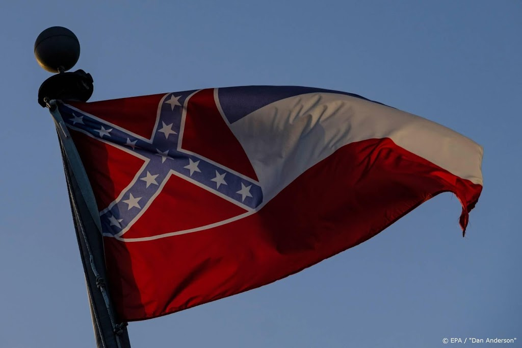 Geen mug in nieuwe vlag Mississippi