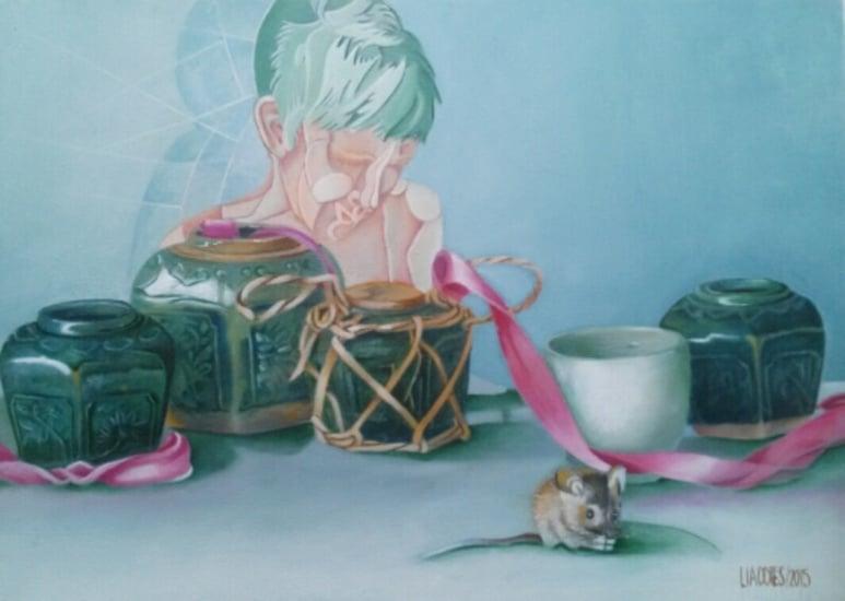 Gestolen kunstwerk uit Dijklander Ziekenhuis in Hoorn nog steeds vermist: 'Er zit twaalf weken werk in het schilderij'