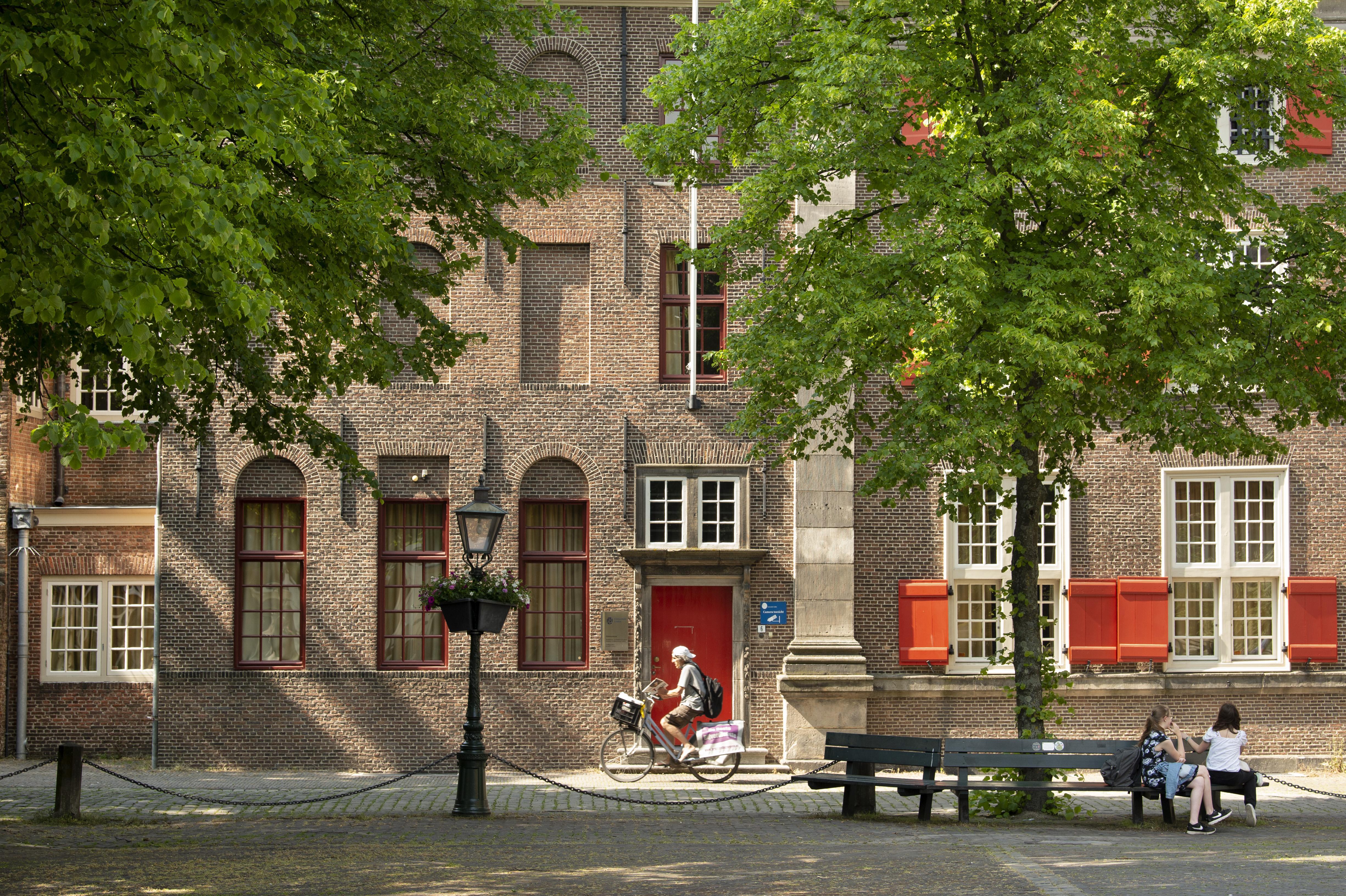 Universiteitsraadslid Floor van Lelyveld: 'Universiteit hoeft niet winstgevend te zijn'