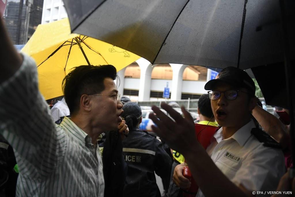 VS willen 'onmiddellijke vrijlating' van actievoerders Hongkong
