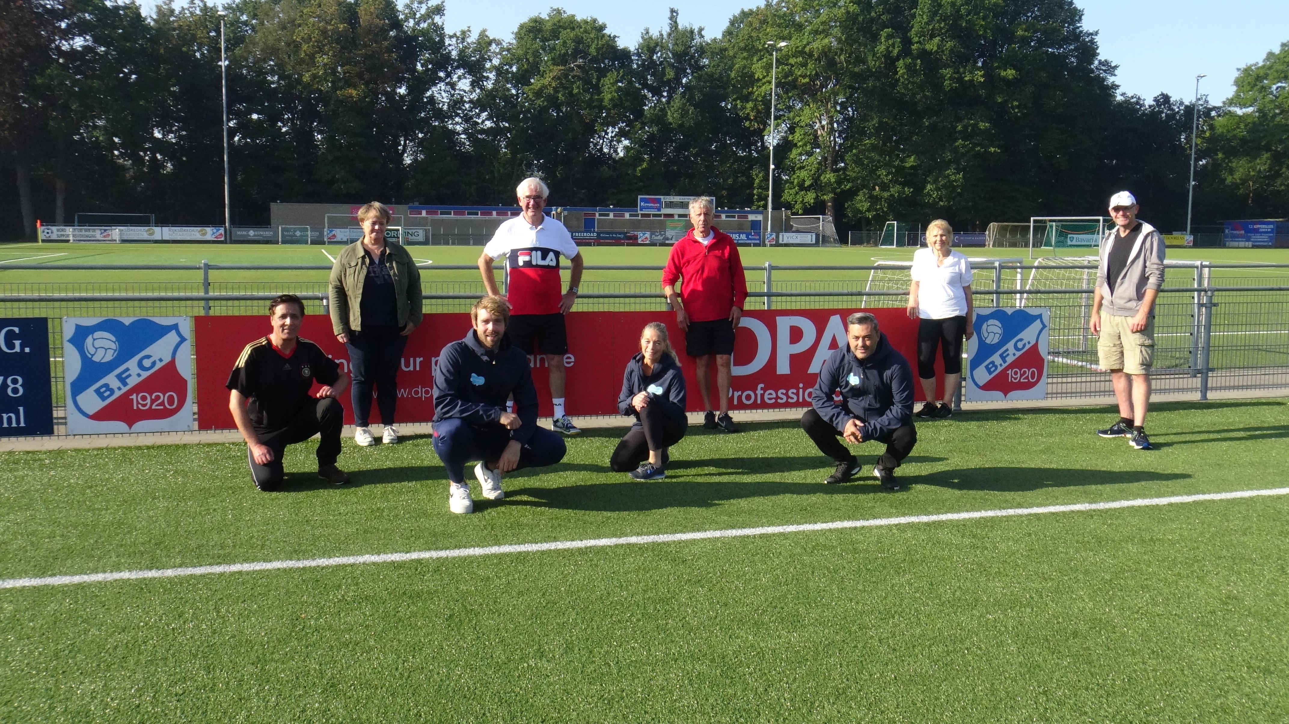 Tweede Buursporthuis geopend bij Bussumse voetbalclub BFC; werken aan conditie, kracht en lenigheid
