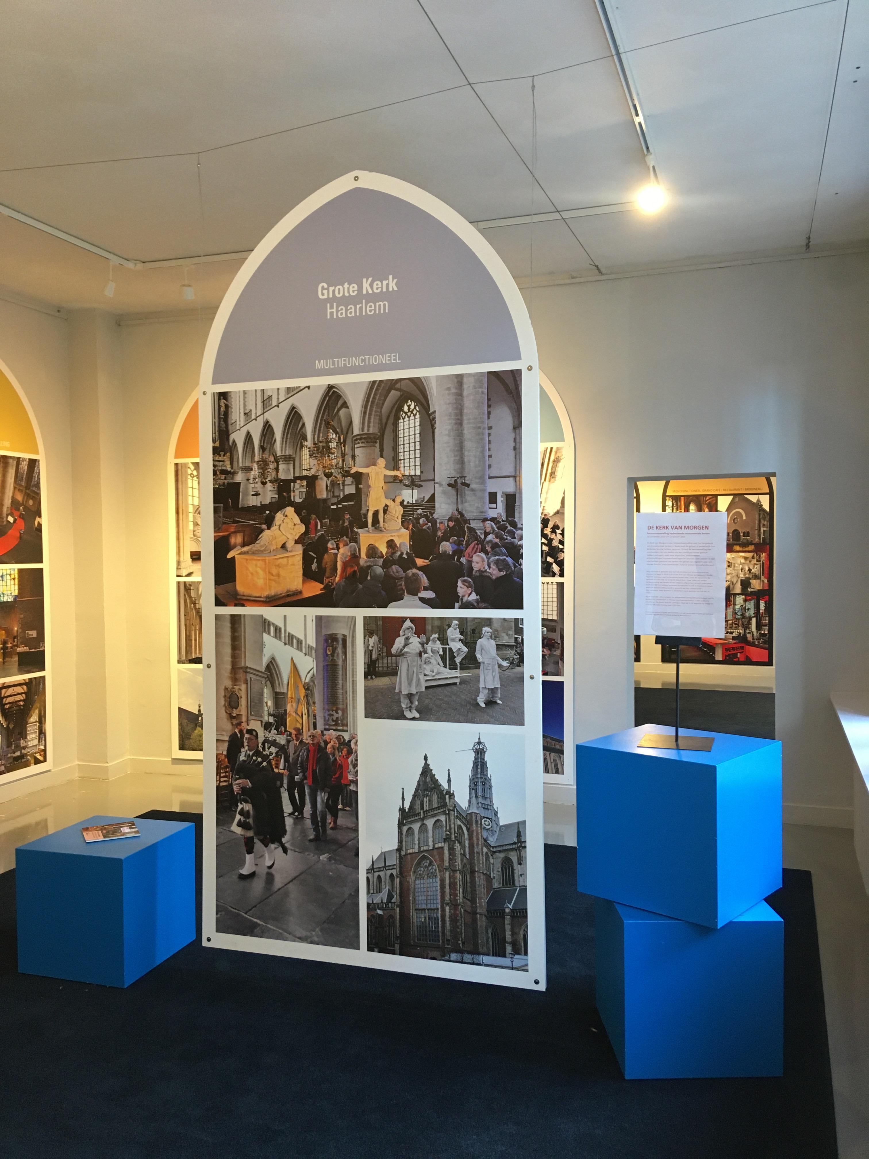 Onder de klanken van Gregoriaans gezang tot rust komen in ABC Architectuurcentrum Haarlem