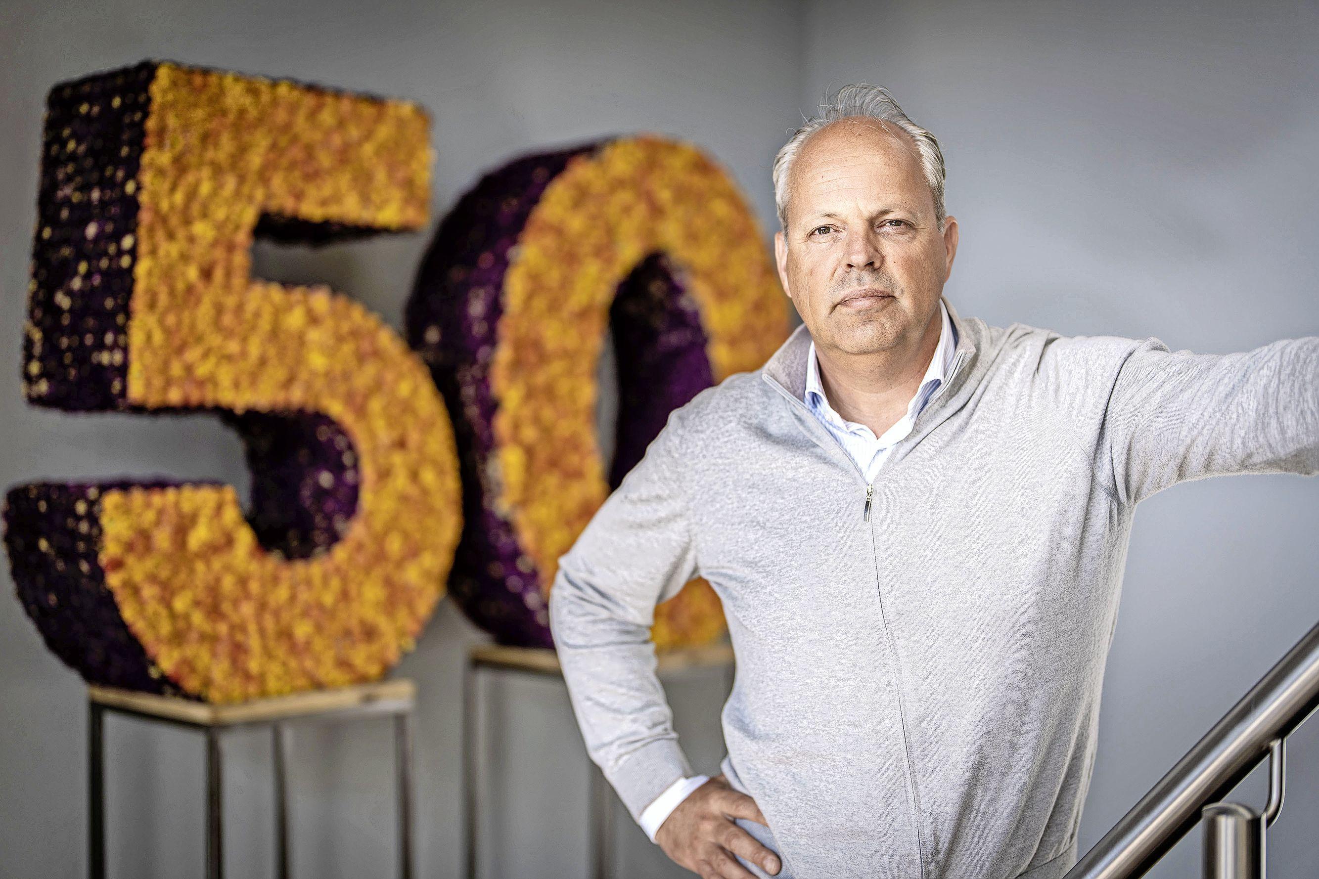 Floral Trade Group viert vijftigjarig jubileum: groeien om familiebedrijf nog generaties te behouden