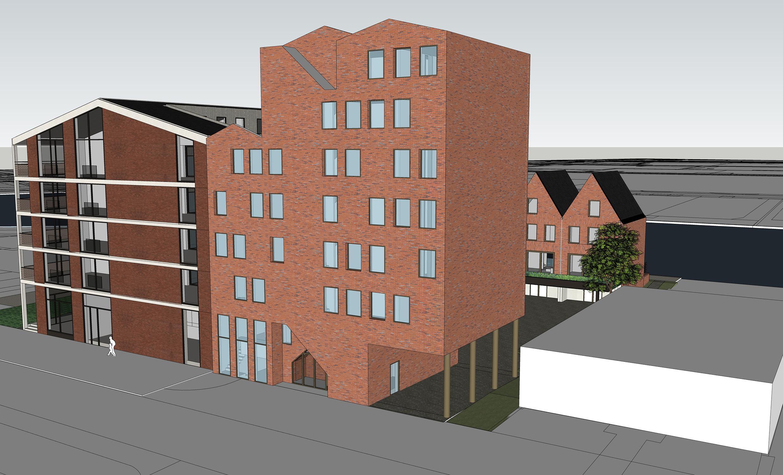 Tweede fase bouw woningen Dok2404 in Rijnhaven-Oost in Alphen aan den Rijn gaat van start