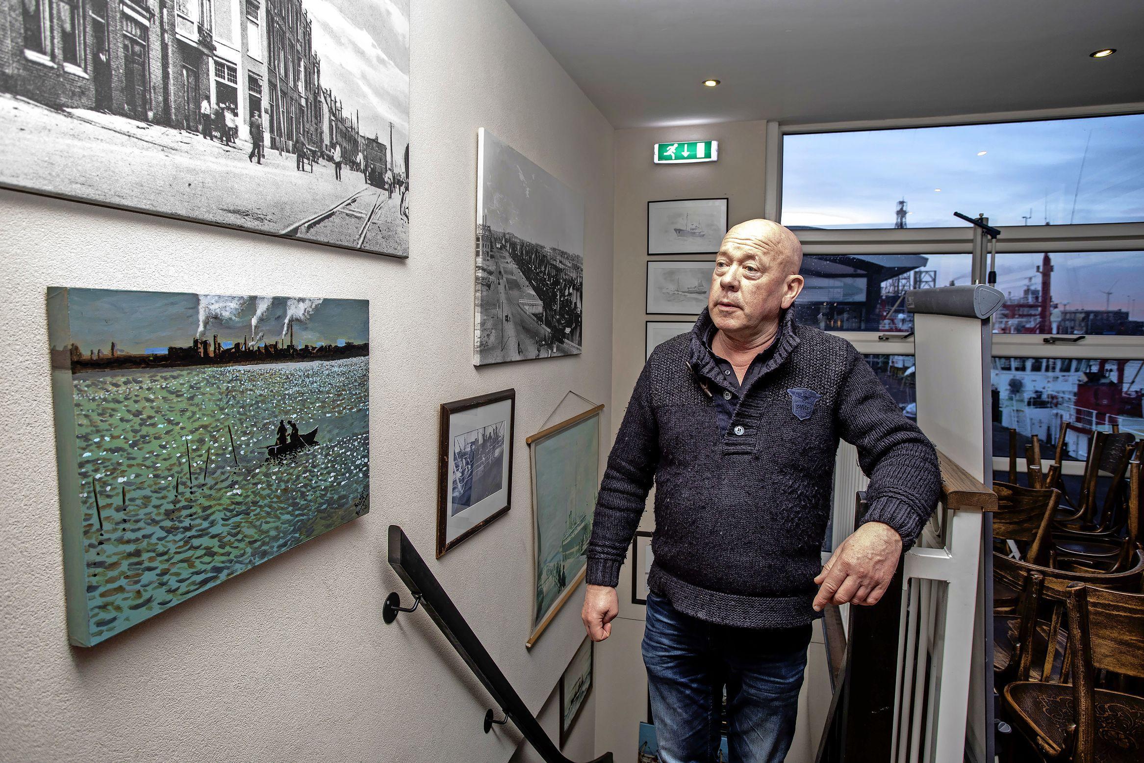 Horecaman Bart in IJmuiden gaat door, al staat het water tot aan zijn lippen en heeft hij zijn huis moeten verkopen. Een crowdfundingactie loopt storm [video]