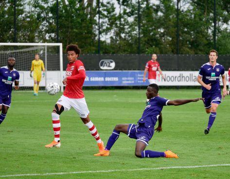 AZ begint zaterdagse 'dubbel' met overwinning op Anderlecht; Idrissi maandag terug [video]