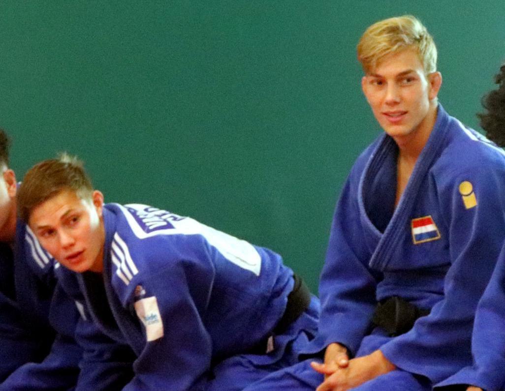 Alkmaarse judobroers Dylan en Yannick van der Kolk samen naar Kroatië voor eerste wedstrijd in acht maanden: 'Niet voor een rondje naar het EK'