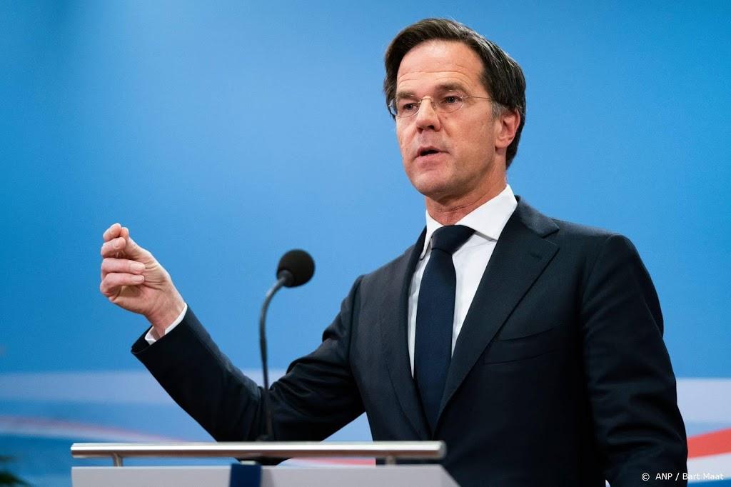 Rutte wil wel door als lijsttrekker VVD
