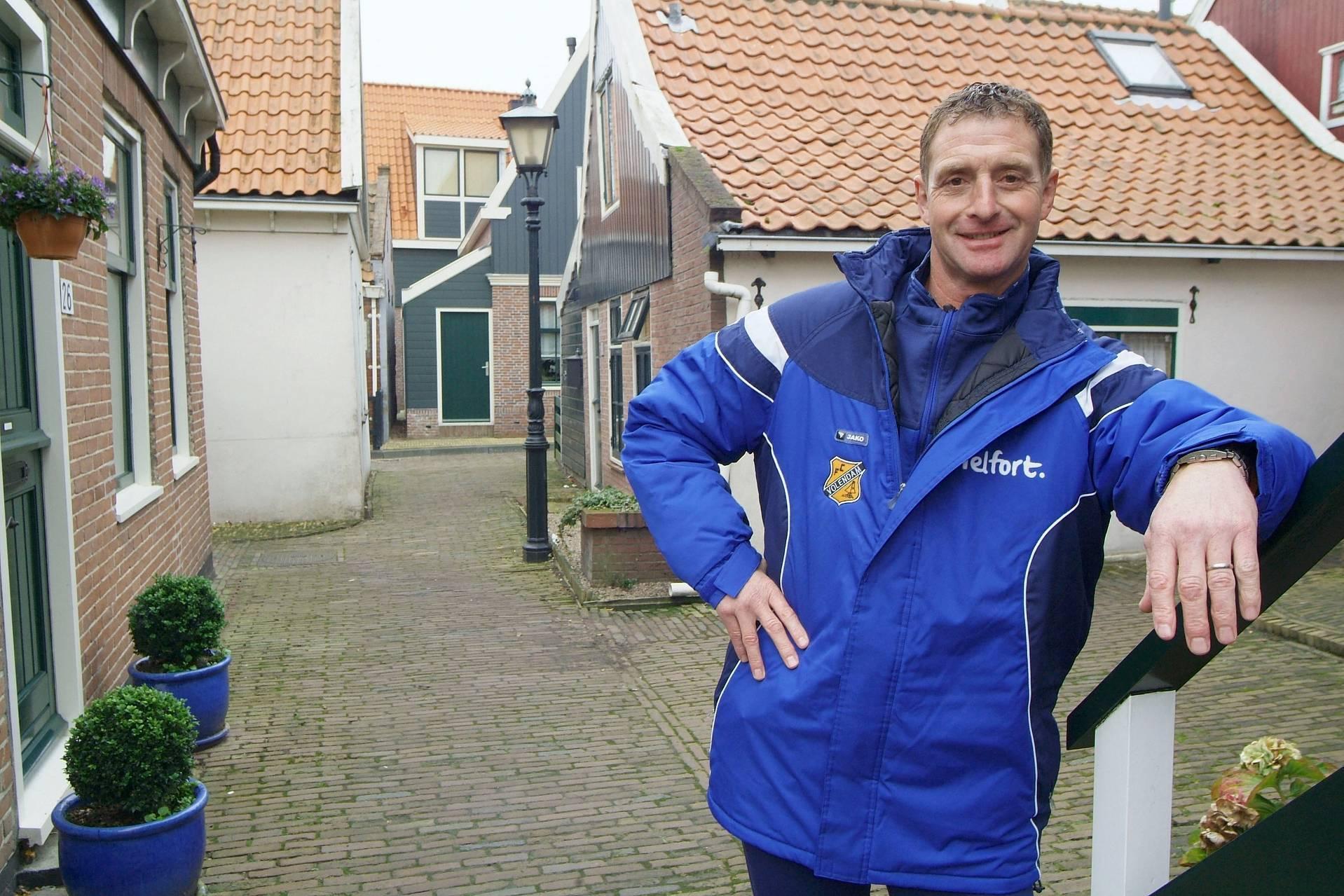 Ernie Brandts graag even terug in Volendam: 'Dan gaan we even een visje halen'