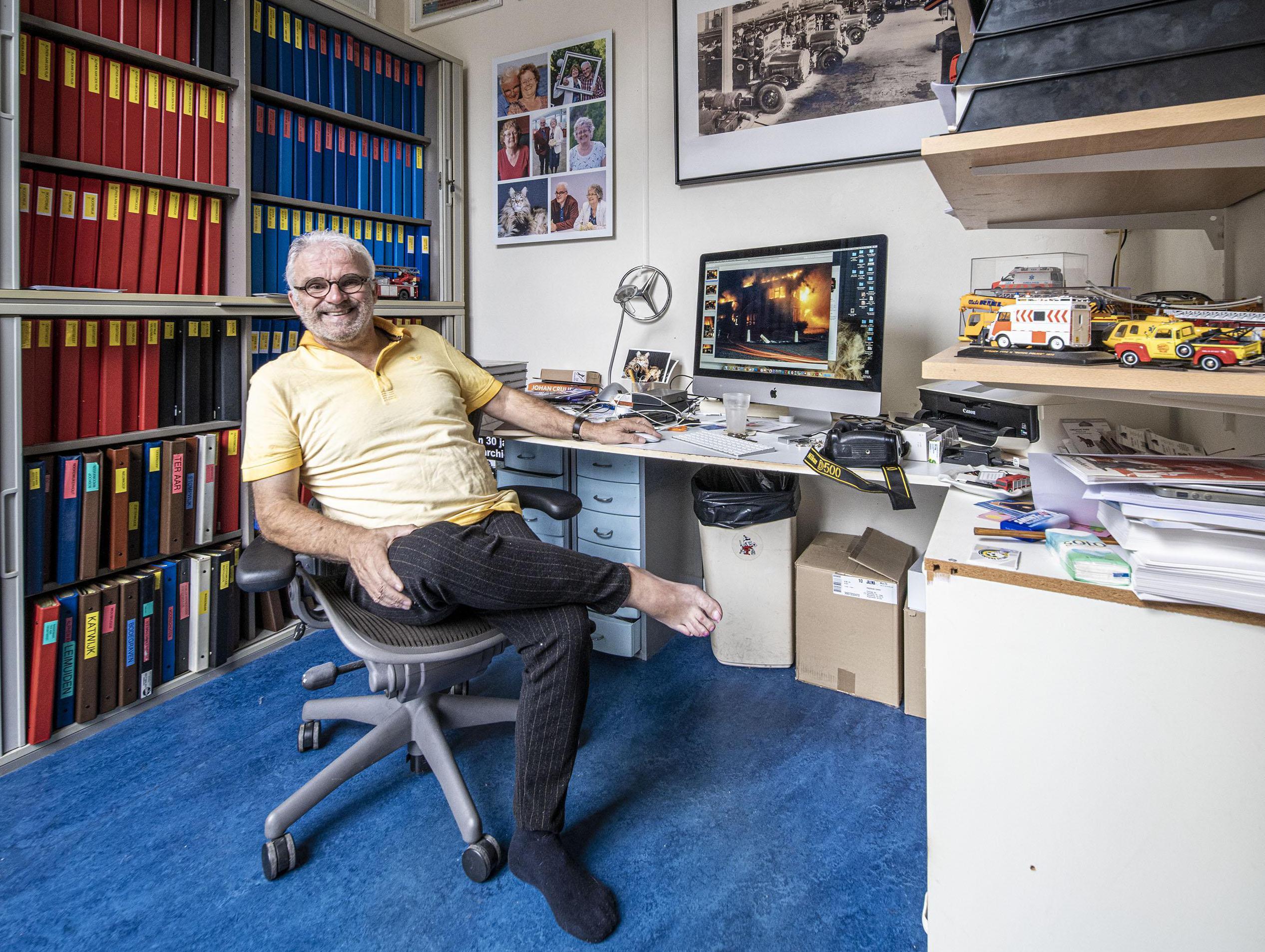 112-fotograaf Toon van der Poel ziet achter elke foto zijn eigen verhaal