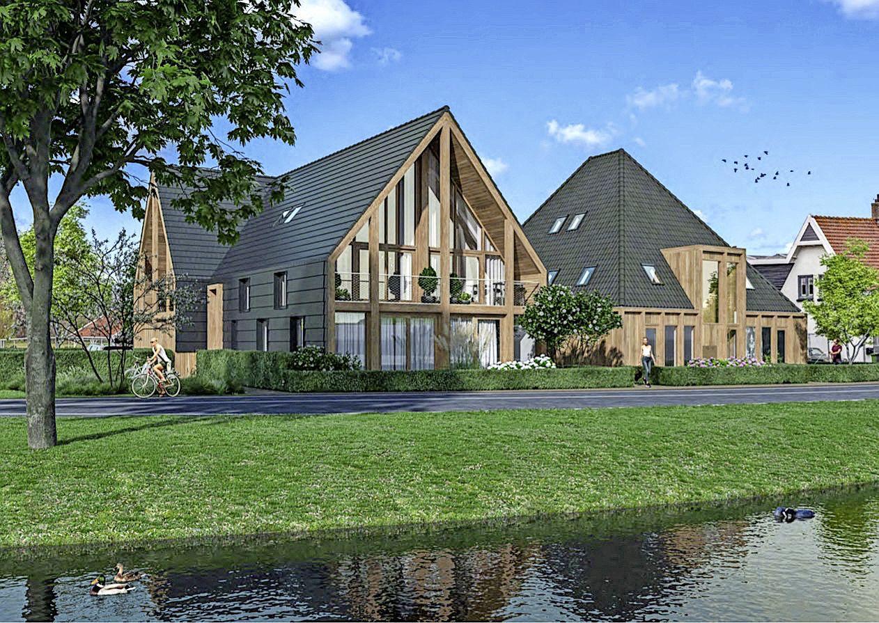 Wonen bij het pontje: Plan voor twee appartementengebouwen bij Akersloot