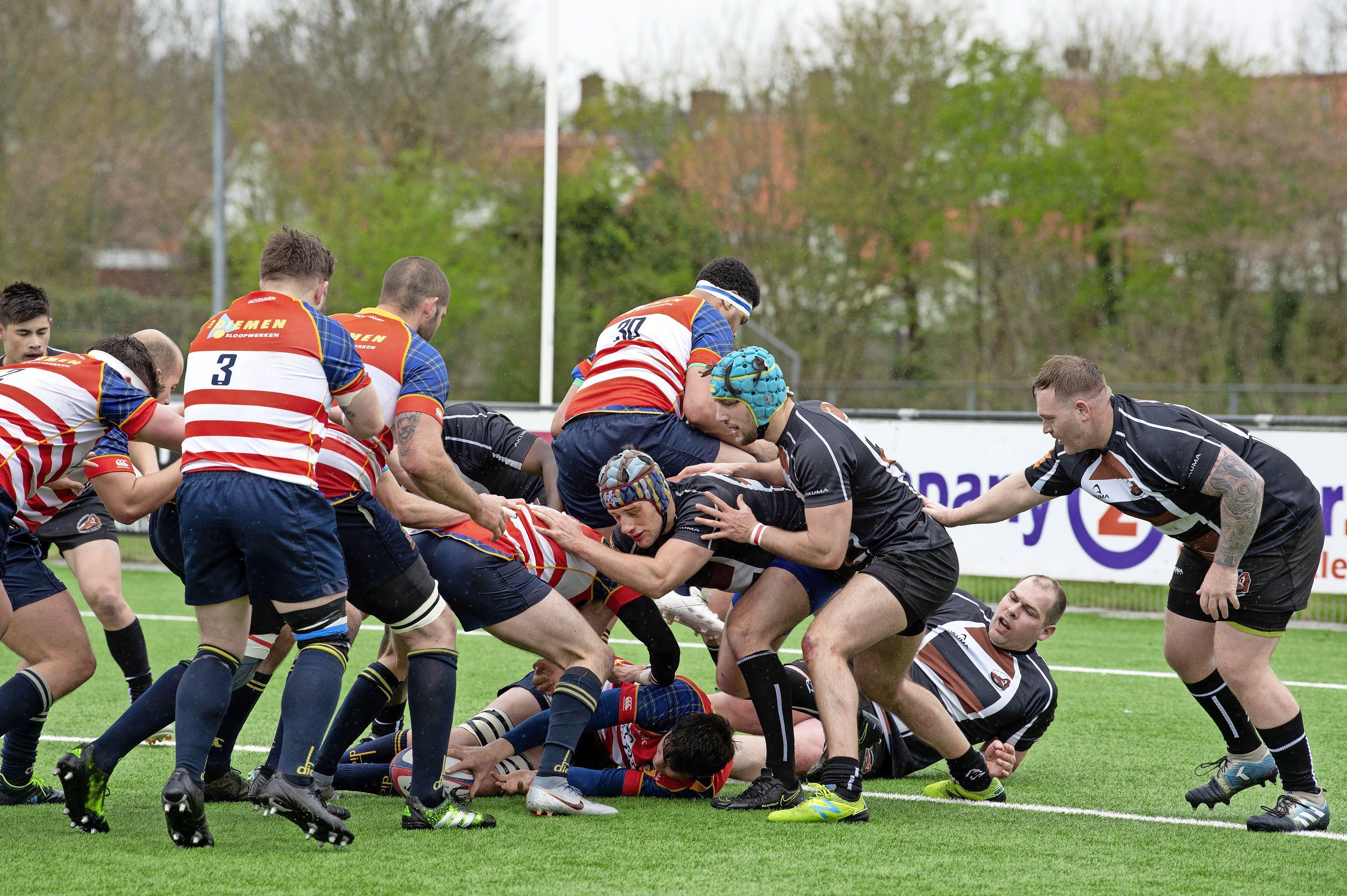 Michiel van der Plas (45) maakt rentree bij rugbyers The Bassets: 'Ik speel tegen gasten die mijn zoon hadden kunnen zijn'
