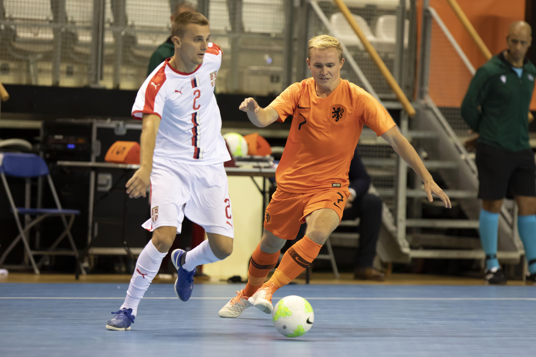 Op de drempel van Oranje draait het voetballeven van Jorg Ooievaar steeds meer om de zaal