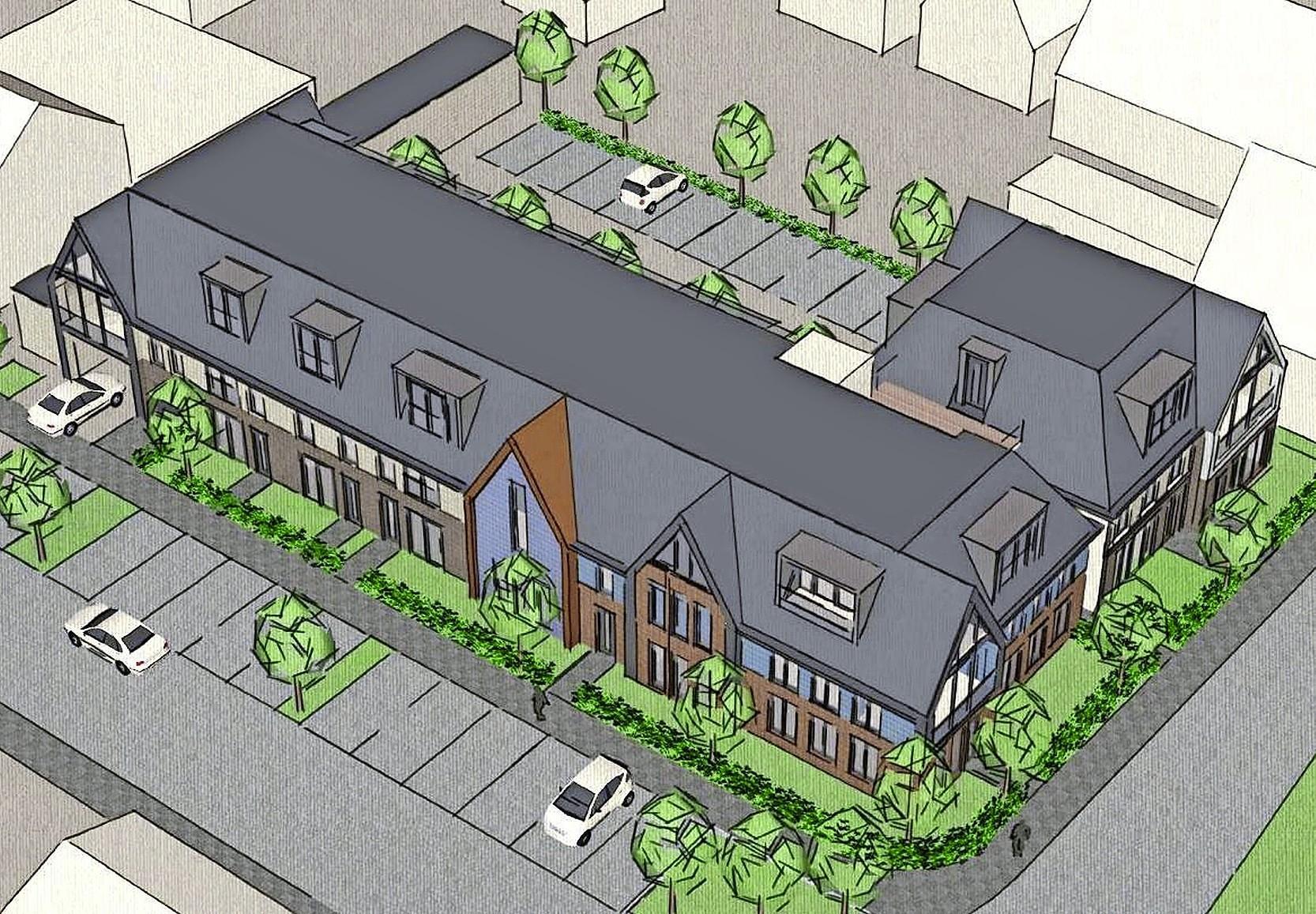 Raad van State veegt alle (parkeer)bezwaren van tafel van Stichting Het Kleinste Huisje in Schermerhorn tegen de komst van 19 appartementen aan de overkant