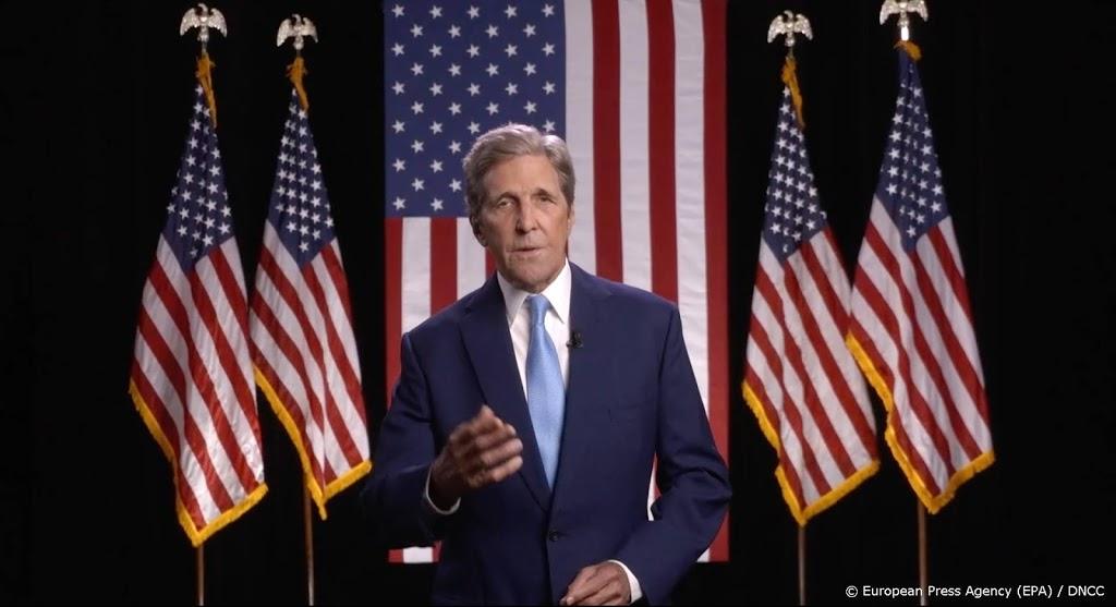 Klimaatgezant Kerry: VS trots en nederig terug aan klimaattafel