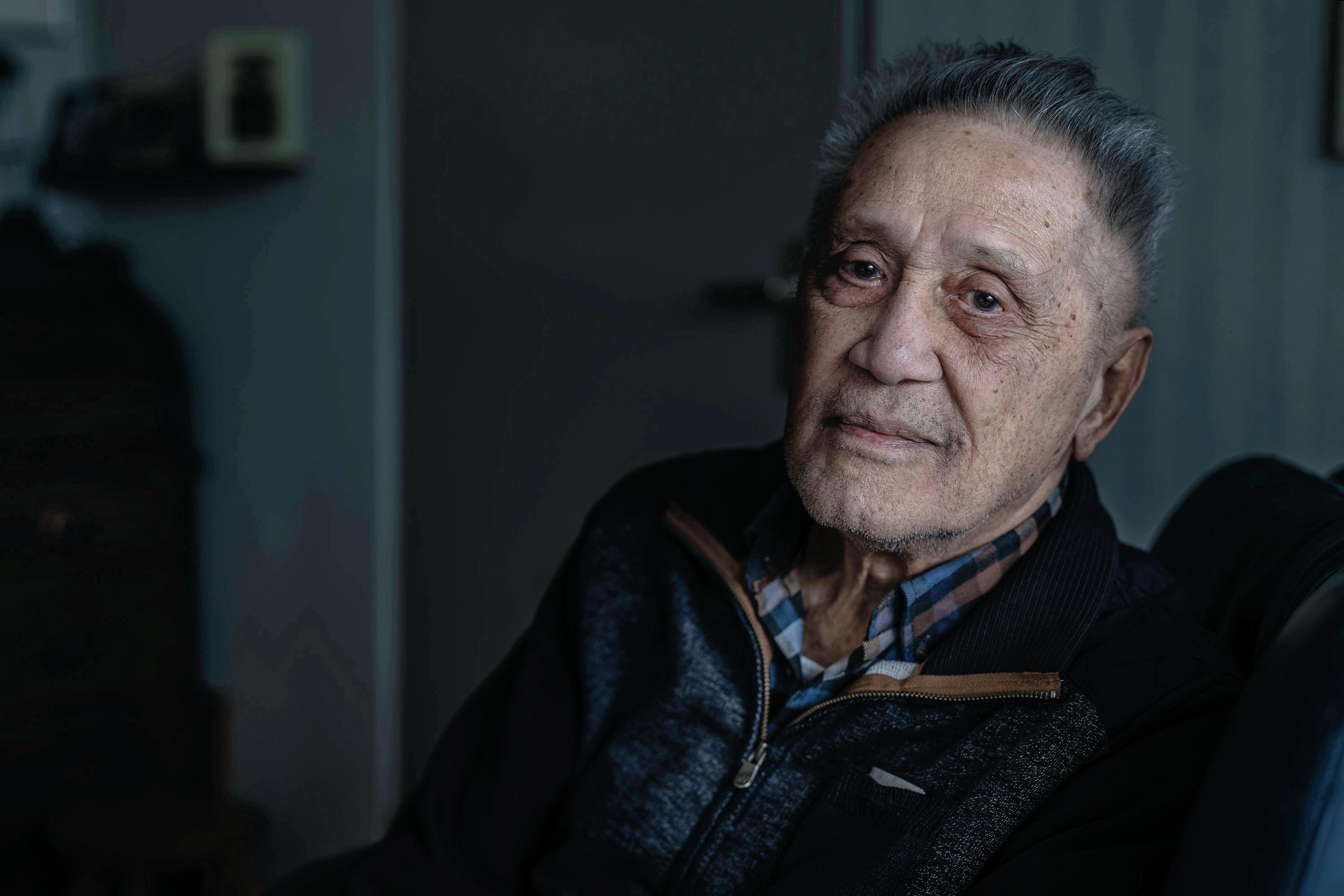 Katwijkse oorlogsheld Camille Stritzko (94) maakt zich op voor eenzame herdenking 75 jaar Bevrijding: 'Over vijf jaar dan maar'