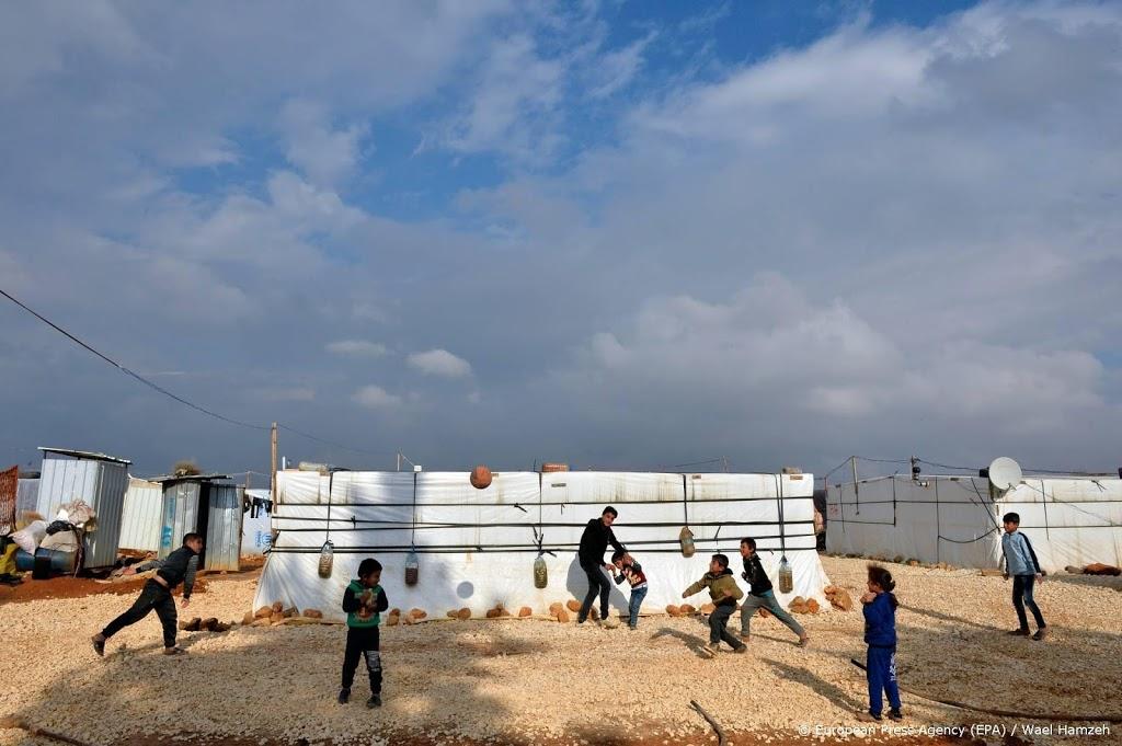 Vluchtelingenkamp in Libanon in brand gestoken en verwoest