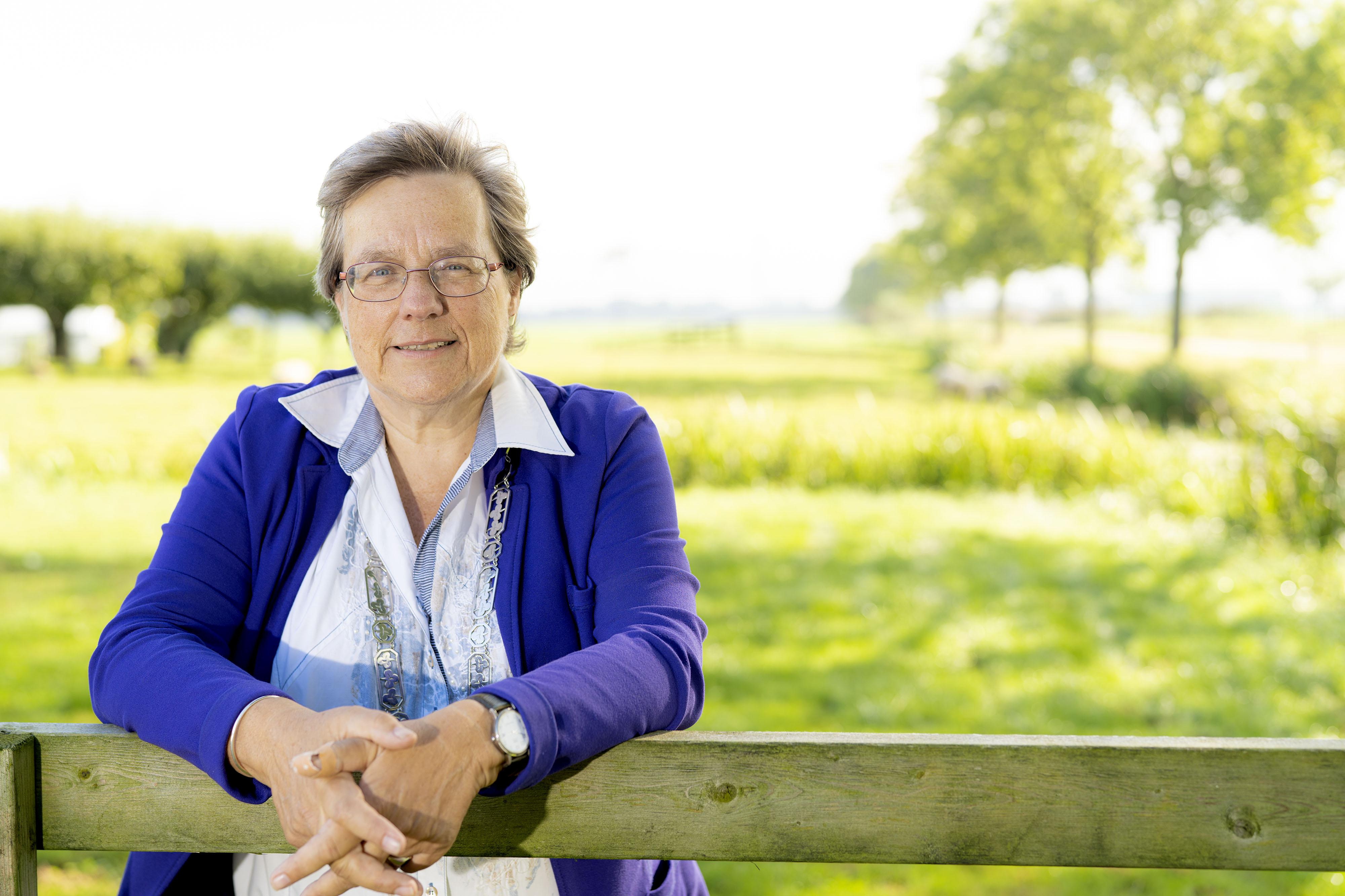 Liesbeth Bloemen is bezig aan haar laatste maanden als burgemeester van Zoeterwoude: 'Ik heb niks met grote ego's'