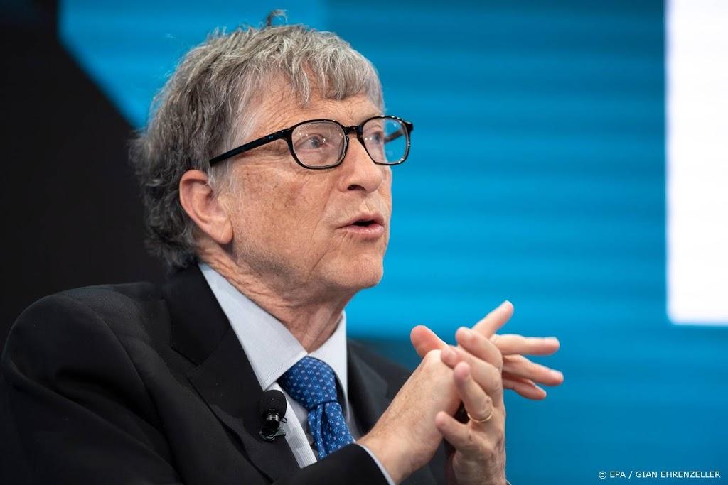 Weldoener Bill Gates: coronavaccin zo snel mogelijk verspreiden