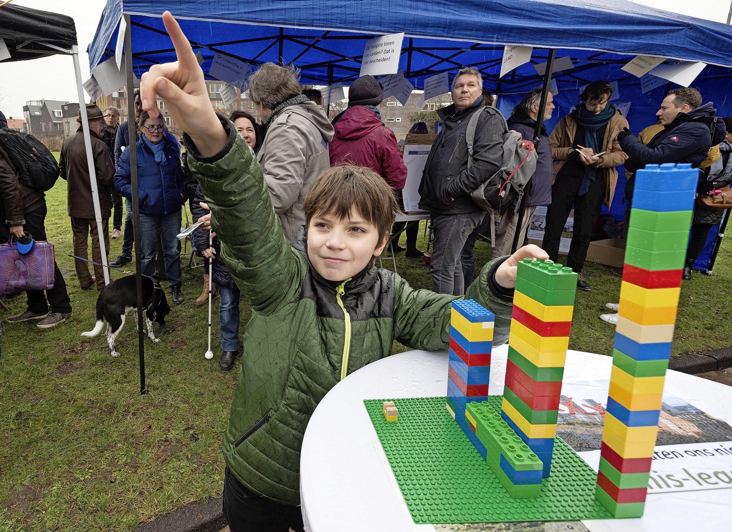 Leids Lego-evenement: nabouwen voor jury en expositie