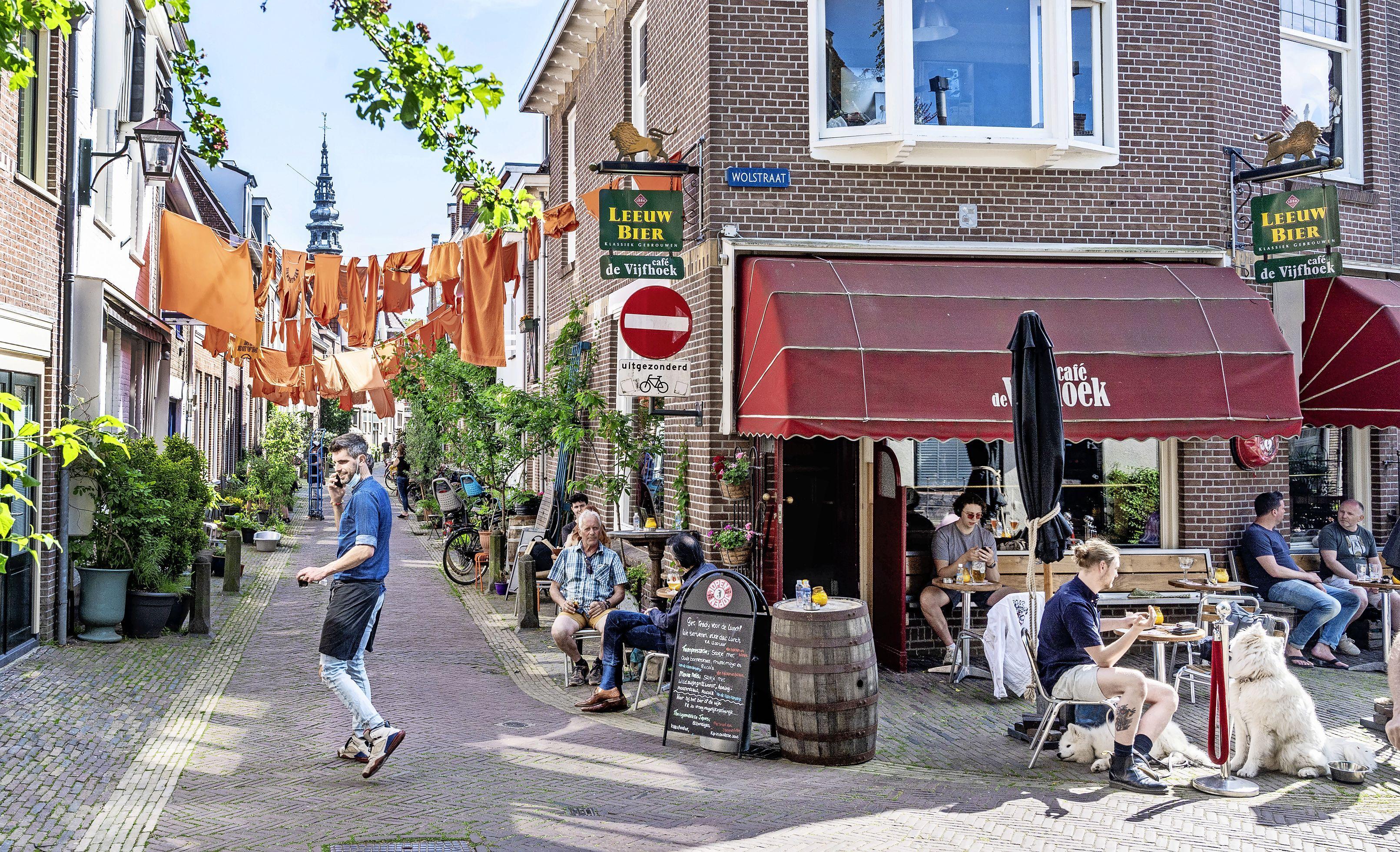 Zondag de eerste EK-wedstrijd van Oranje in cafés: 'Na de versoepelingen kreeg ik meteen reserveringen binnen'