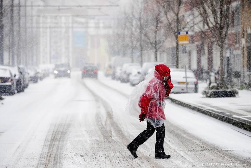 Weer.nl: eerste sneeuwstorm in ruim tien jaar