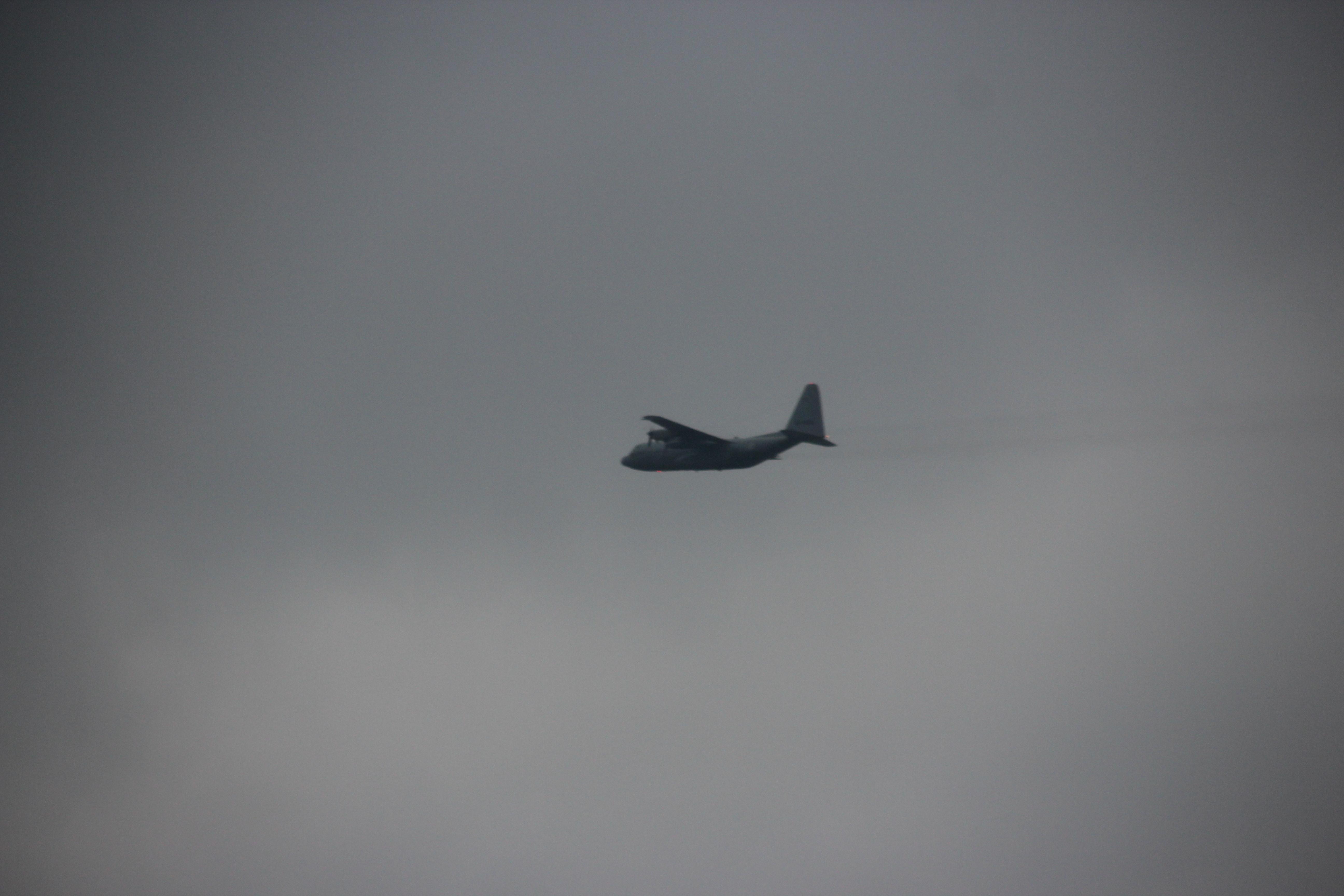 Defensie: Hercules vliegtuigen niet de oorzaak van olievervuiling De Goorn