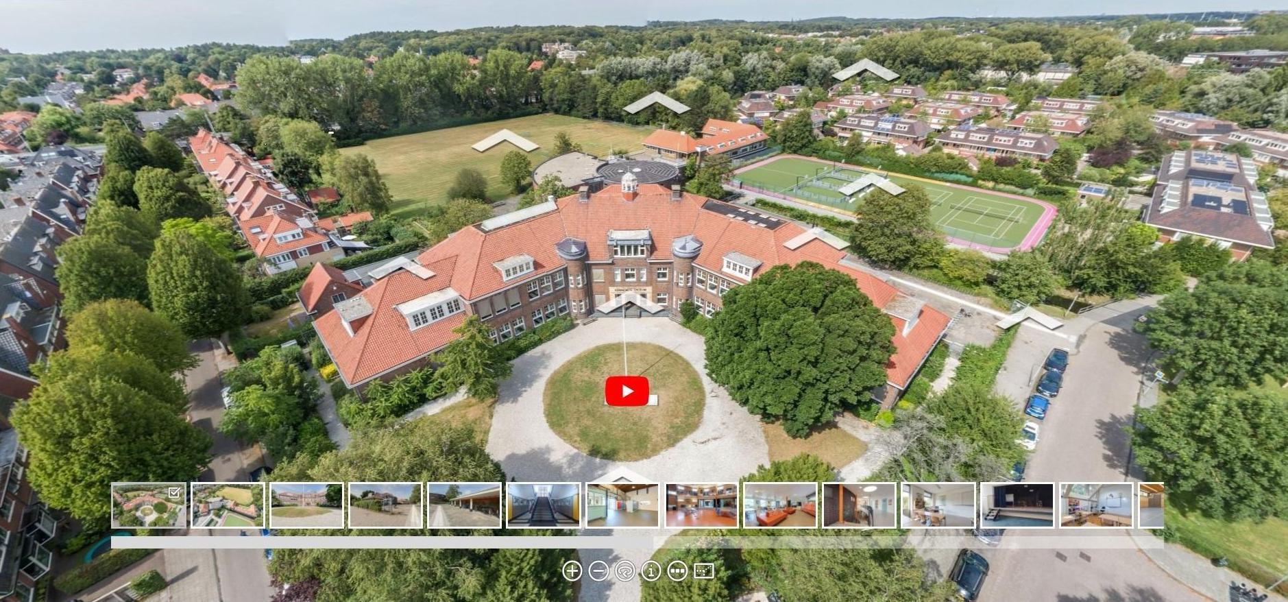 Kennemer Lyceum in Overveen biedt virtueel inkijkje in de dagelijkse praktijk van de school [video]