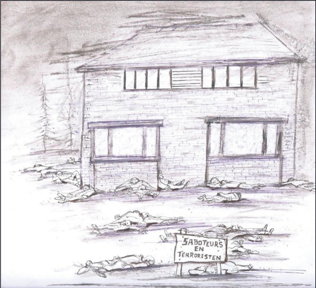 Gruwelijke represaille in Amersfoortse voortuin op 5 februari 1945 kost twintig verzetsstrijders het leven