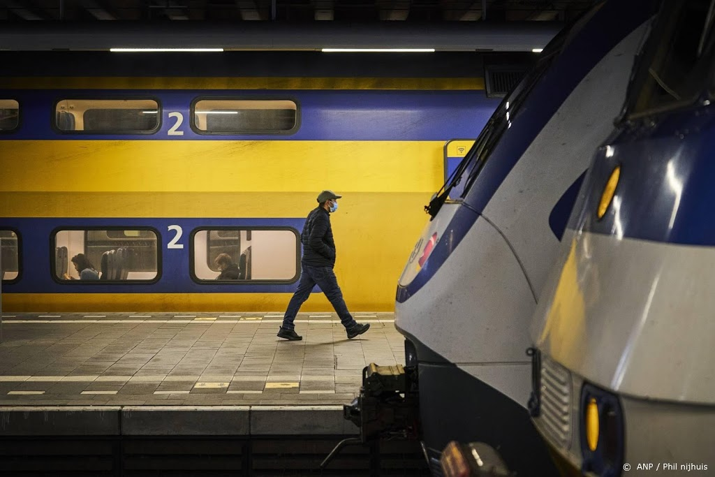 Treinen rijden bijna allemaal weer