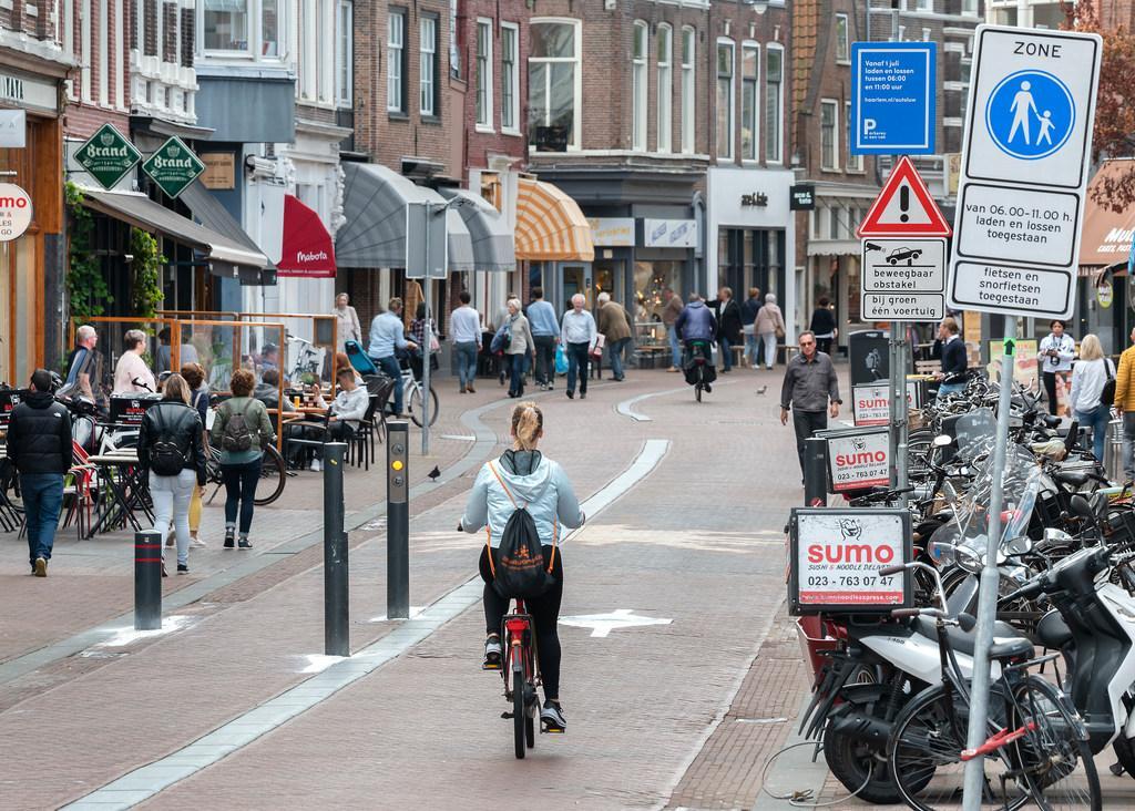 Autoluwe binnenstad in Haarlem is een doorslaand succes: 'We mogen hier best trots op zijn'