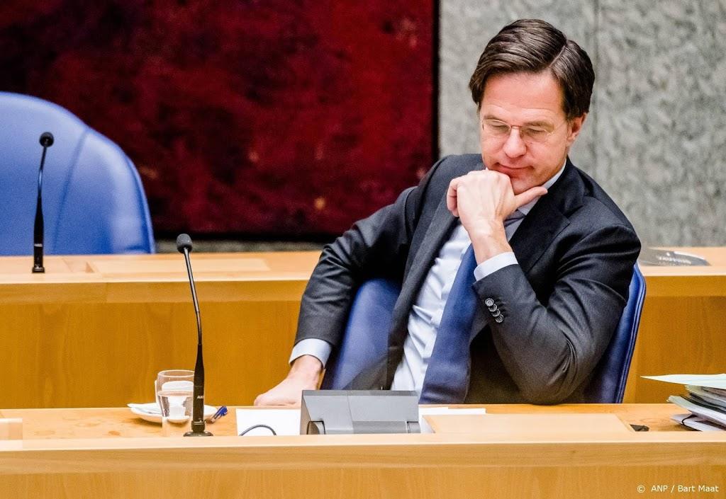 Kamer wil dat Rutte kijkt naar eigen rol in toeslagenaffaire