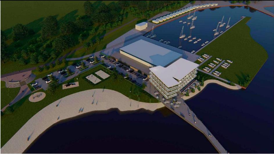Plan voor een groot hotel op het strand in Spakenburg met 63 kamers en een groot panoramaterras op het dak; 'Goed voor het dorp, iedereen is positief'