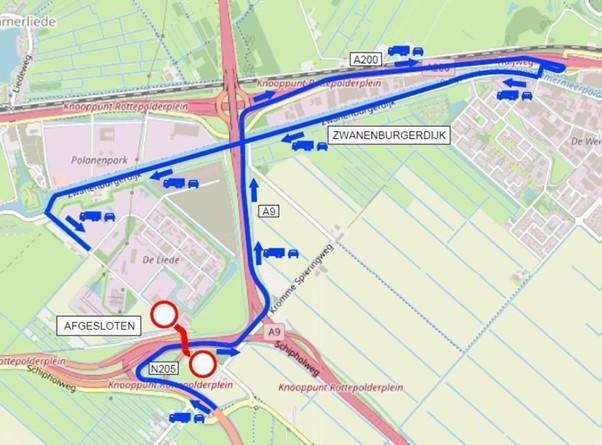 Haarlemmermeers bedrijventerrein De Liede krijgt rondweg, Spaarnwouderweg vier maanden afgesloten