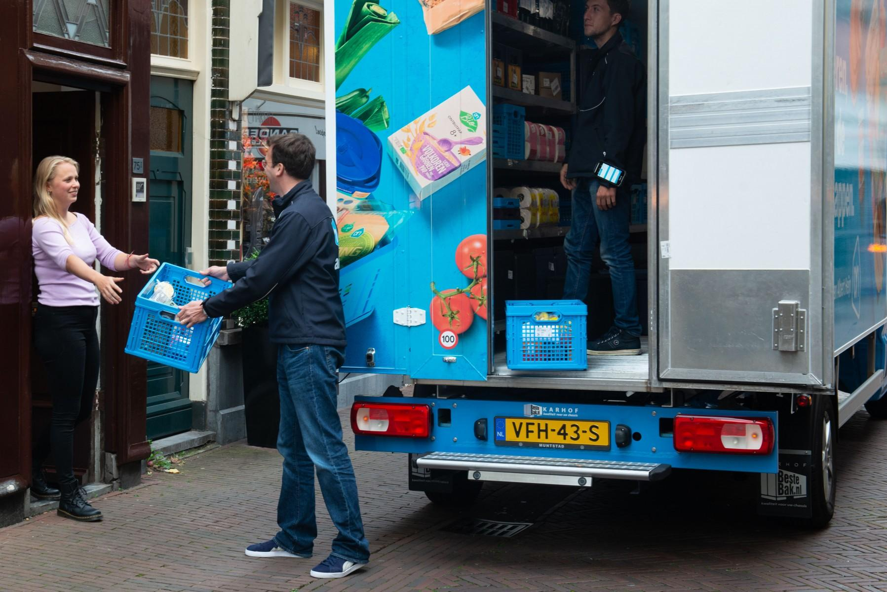 Haarlem heeft primeur met nieuwe bezorgservice voor kleine huishoudens van Albert Heijn