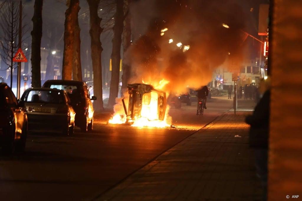 Onrust en vuurwerk door heel Nederland