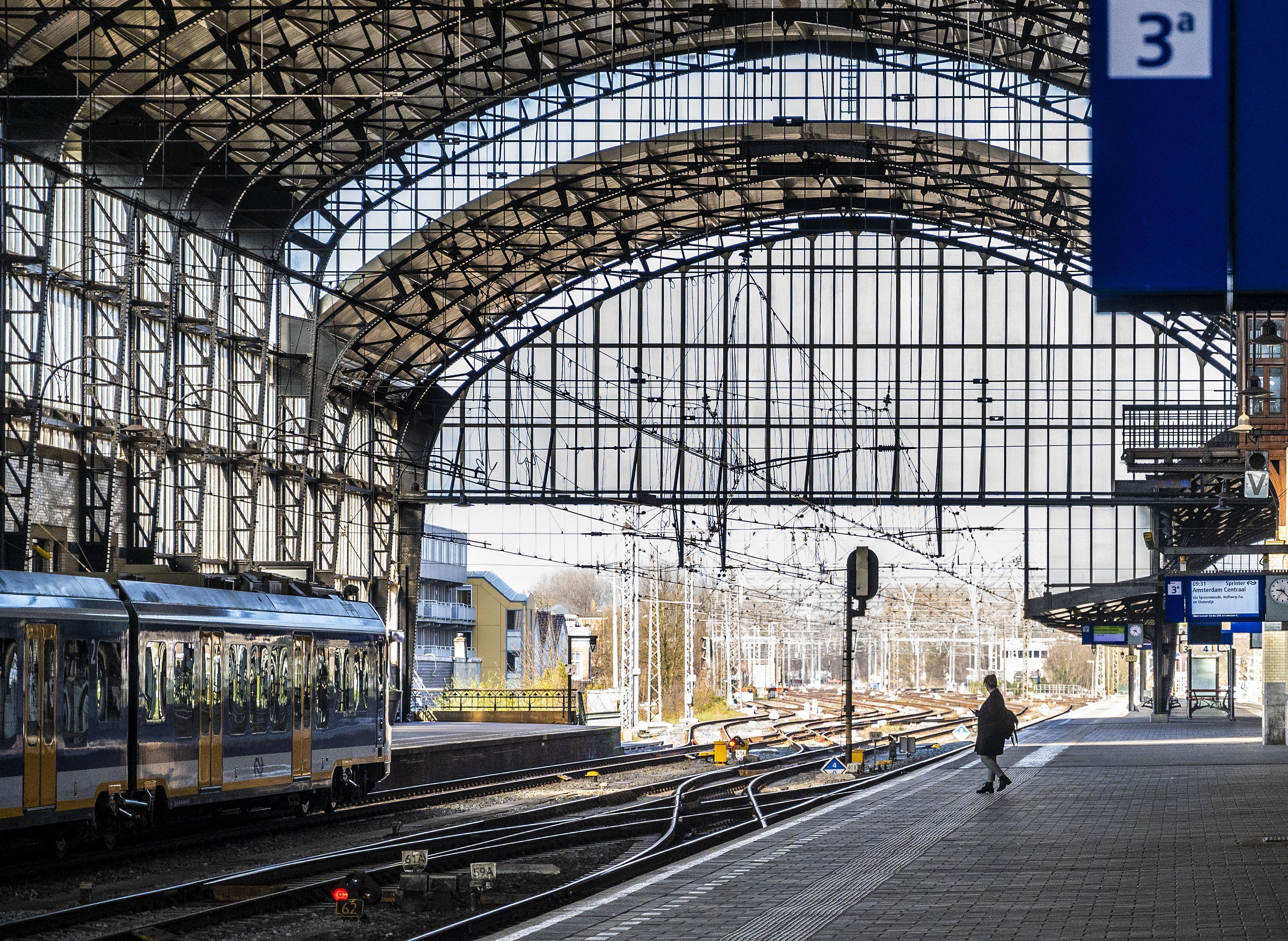 Toch hoop voor zonnepanelen op dak NS-station Haarlem